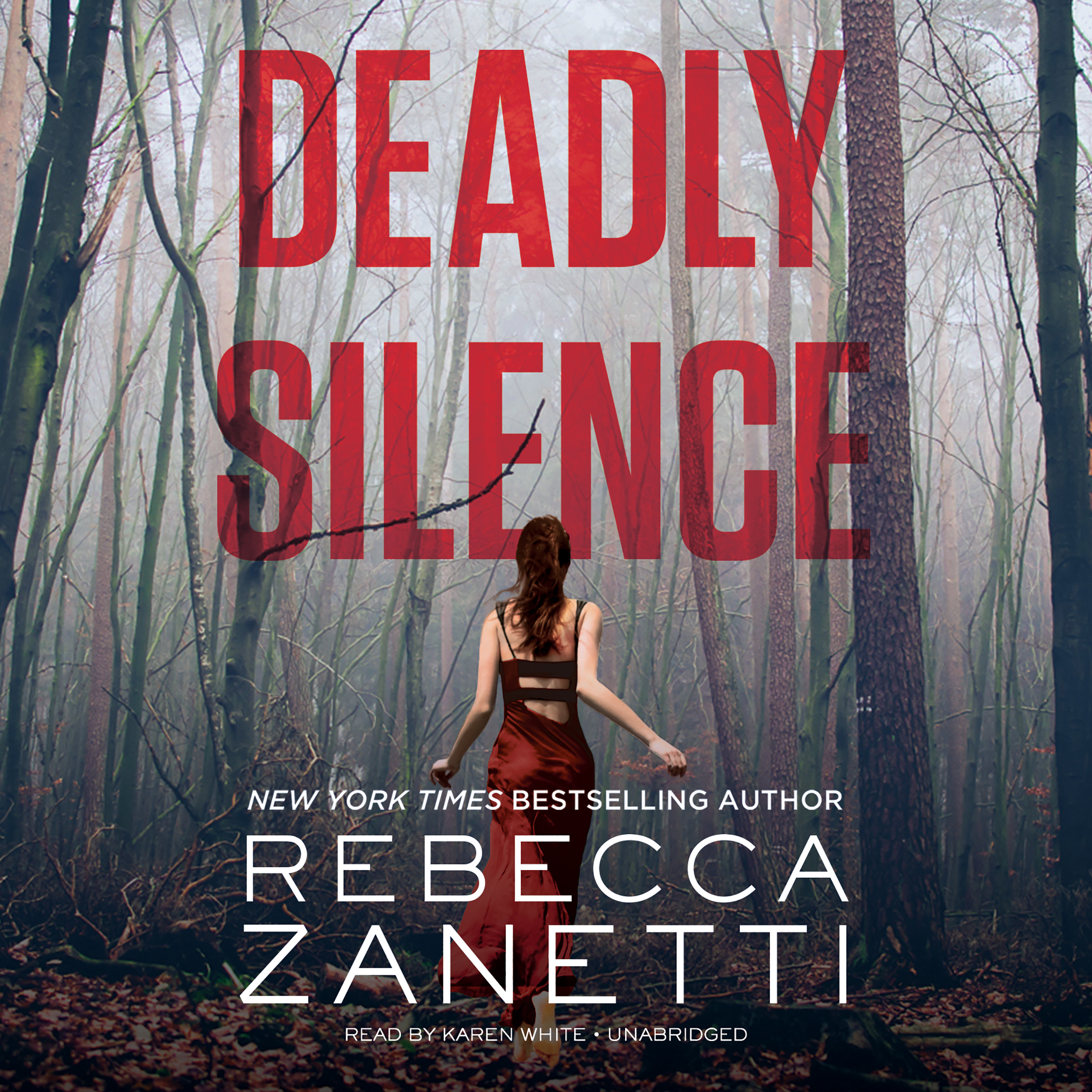 Printable Deadly Silence Audiobook Cover Art