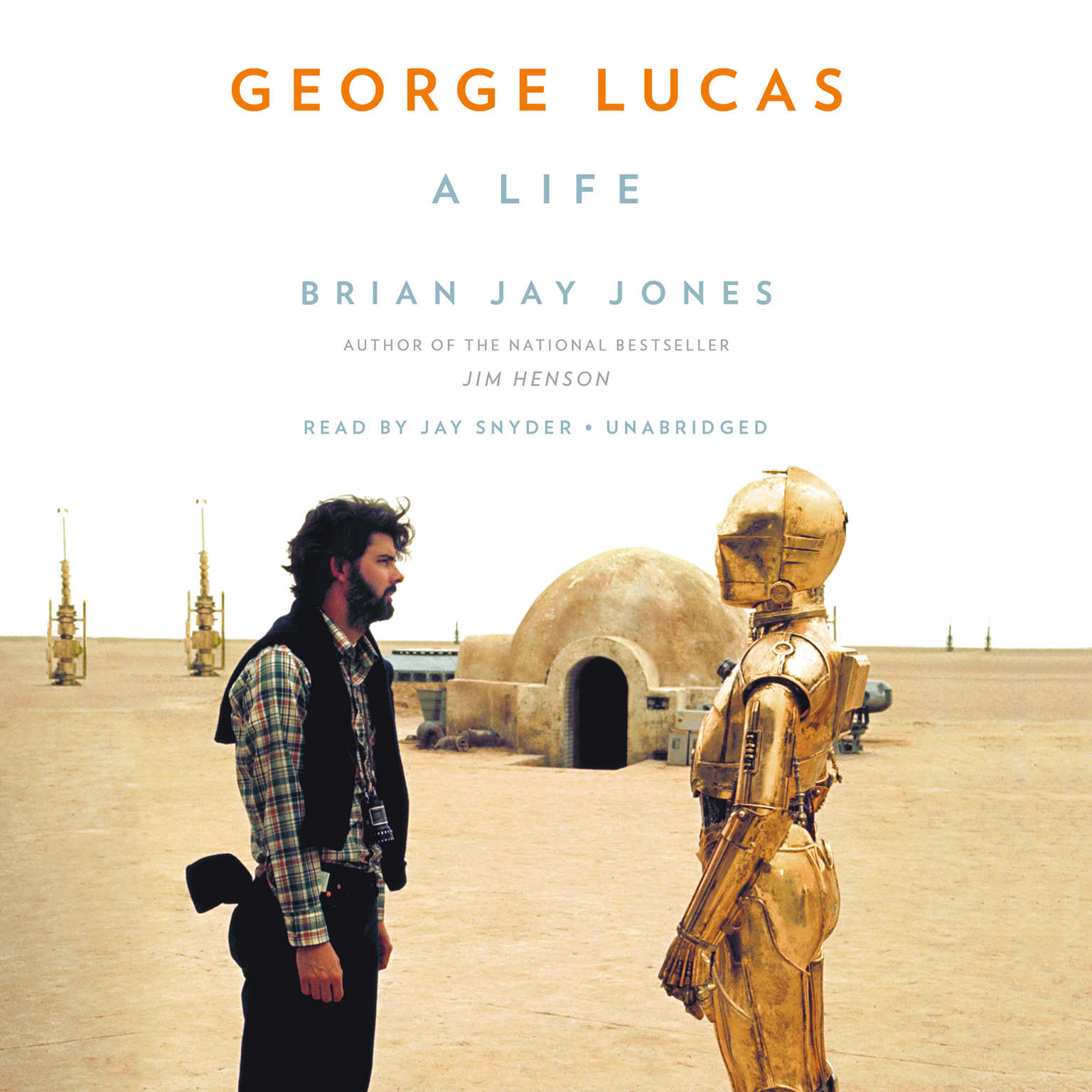 Printable George Lucas: A Life Audiobook Cover Art