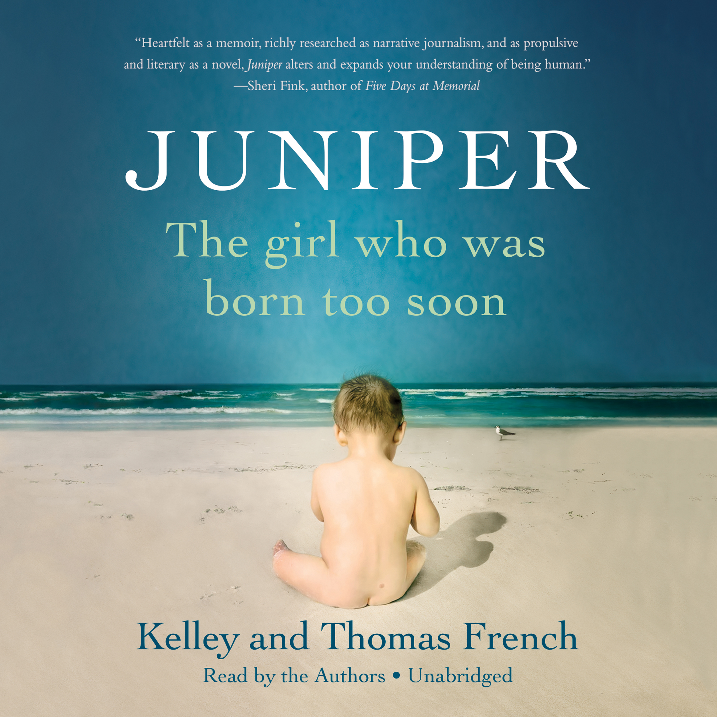 Printable Juniper: The Girl Who Was Born Too Soon Audiobook Cover Art