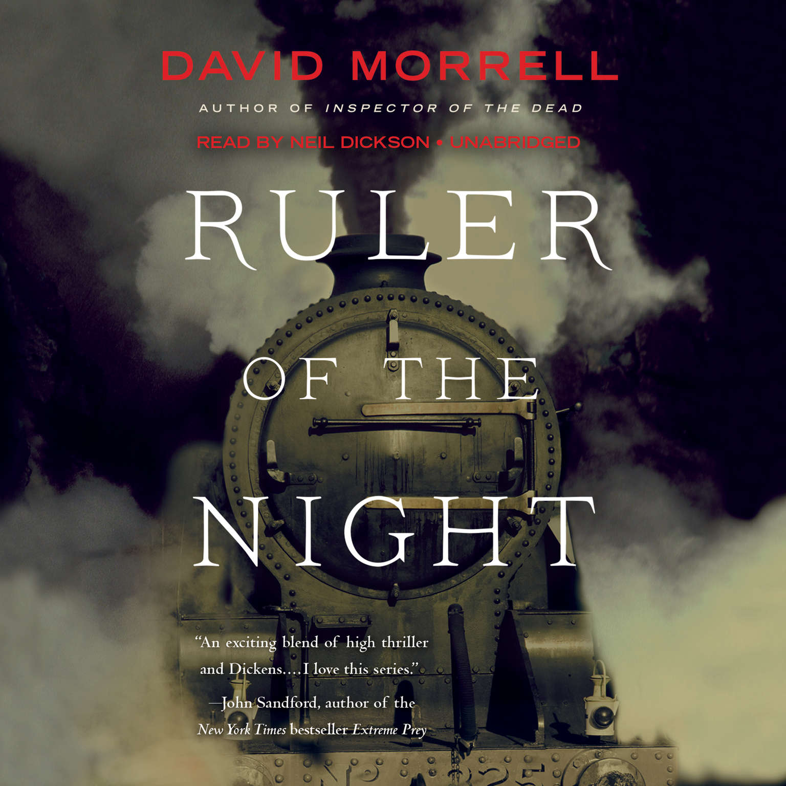 Printable Ruler of the Night Audiobook Cover Art