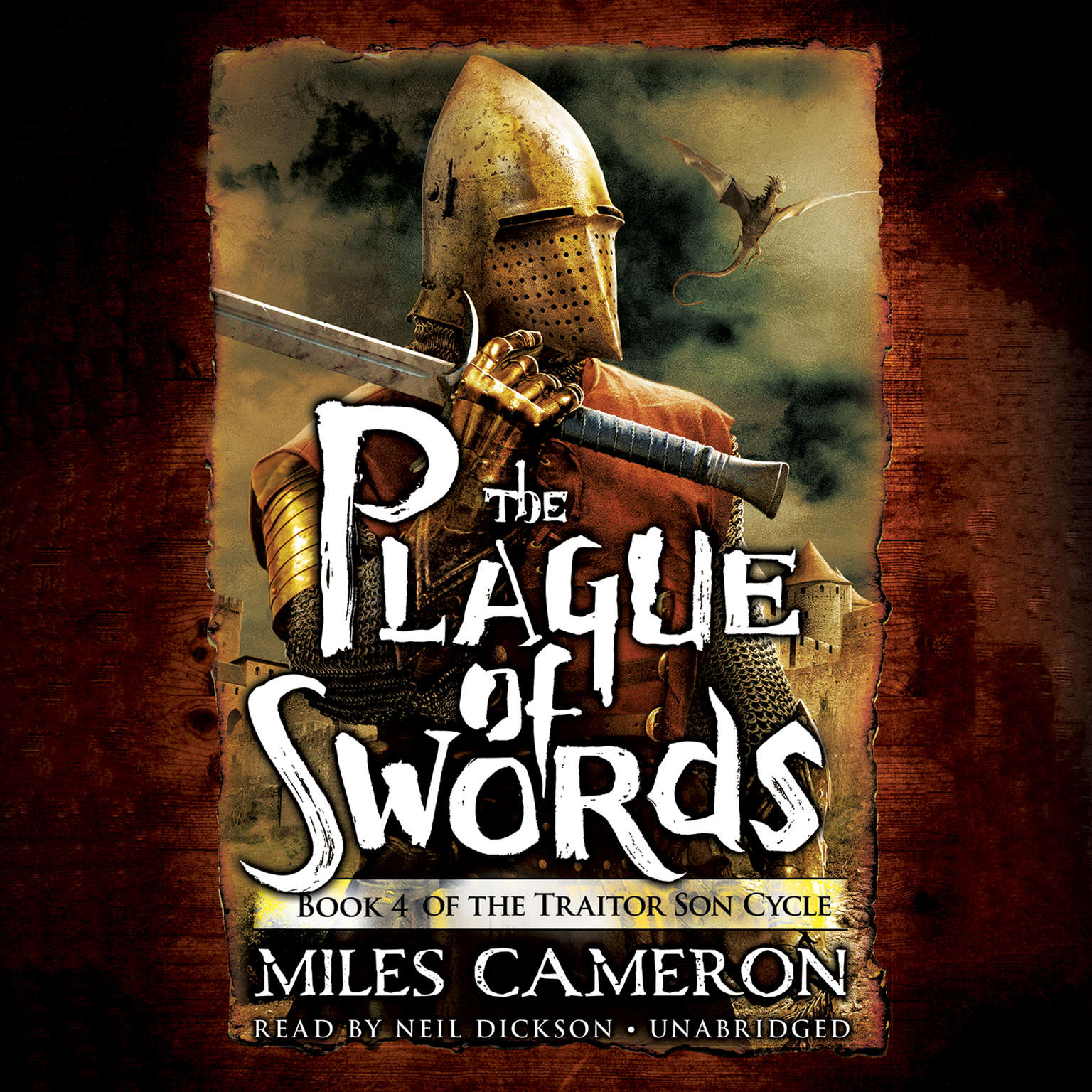 Printable The Plague of Swords Audiobook Cover Art