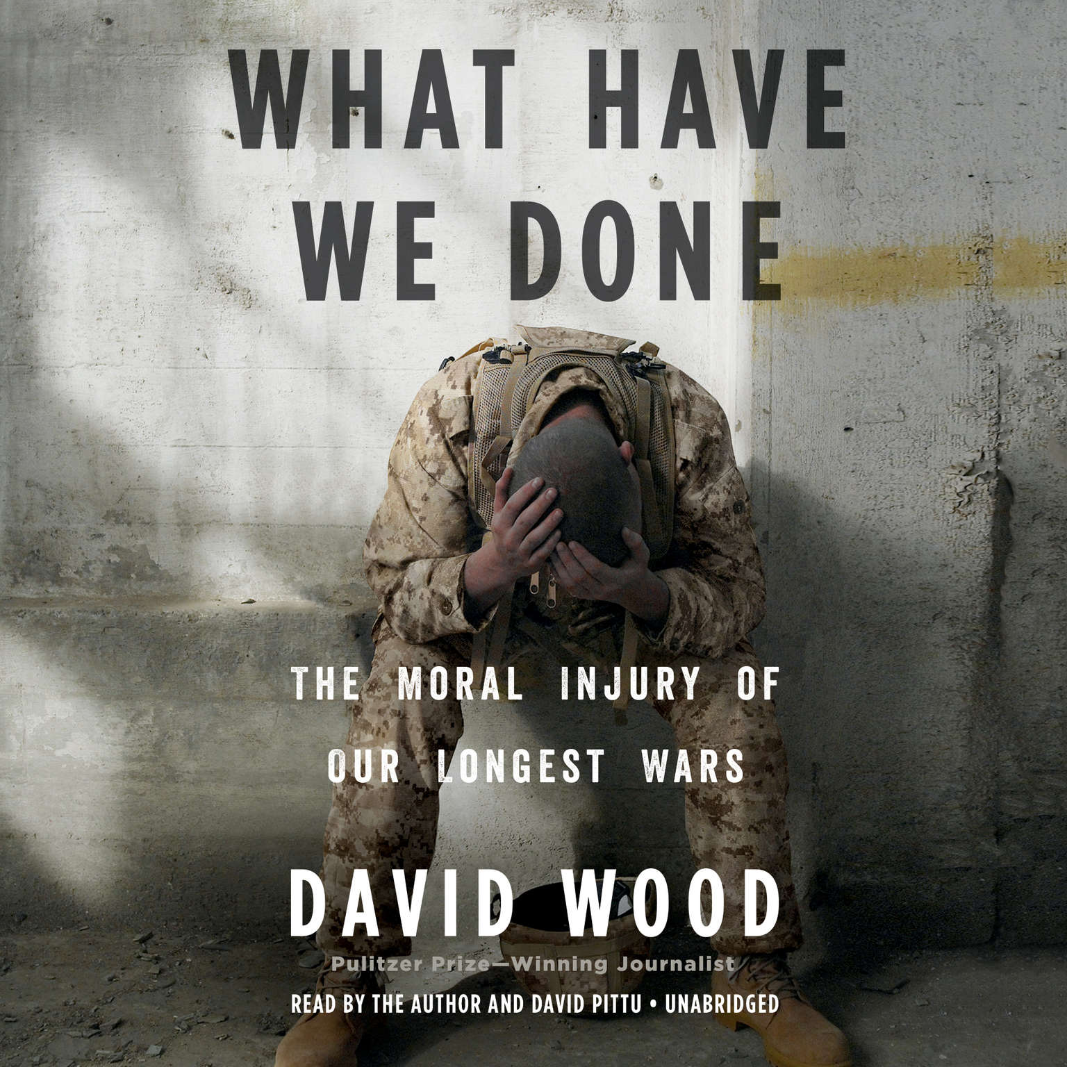 Printable What Have We Done: The Moral Injury of Our Longest Wars Audiobook Cover Art
