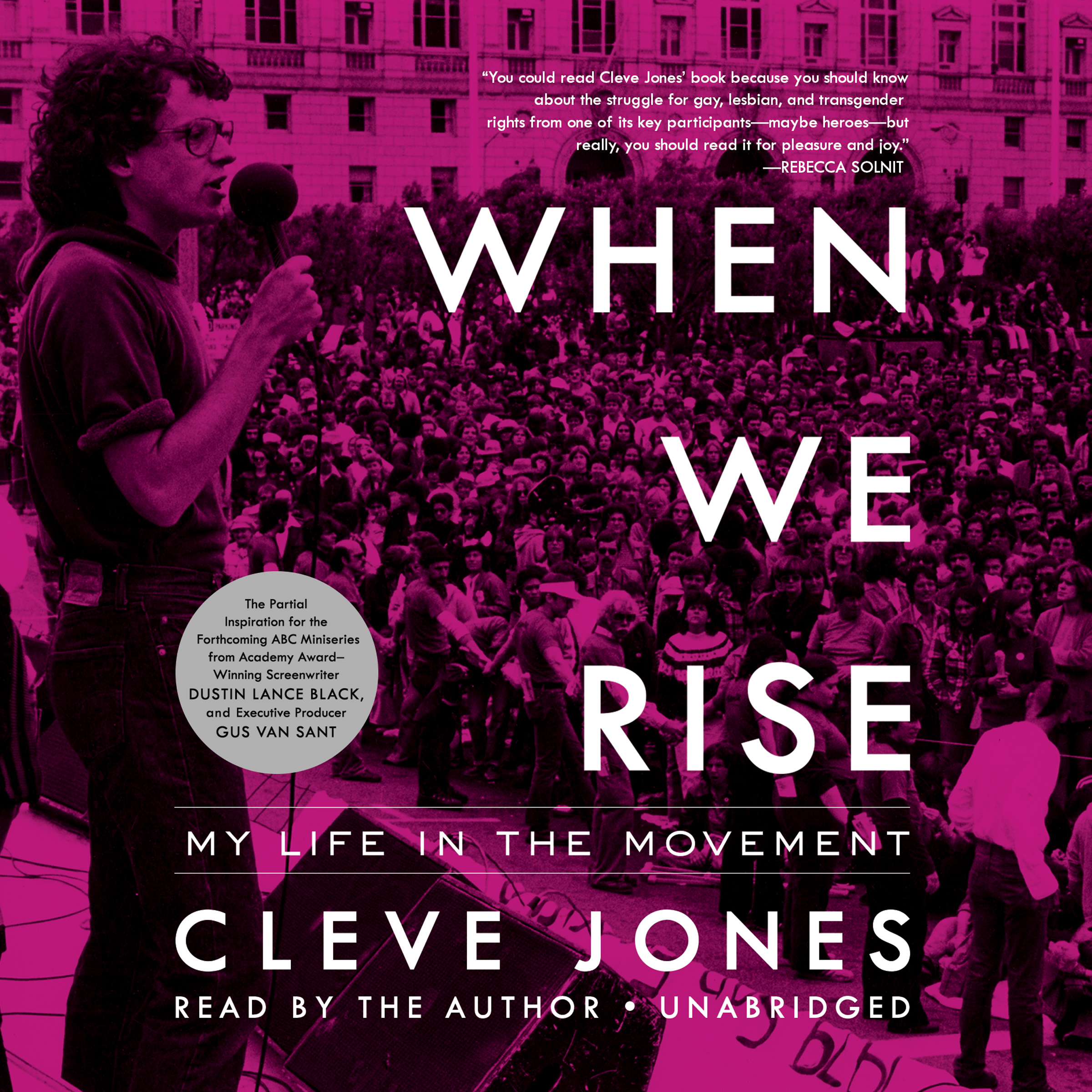 Printable When We Rise: My Life in the Movement Audiobook Cover Art