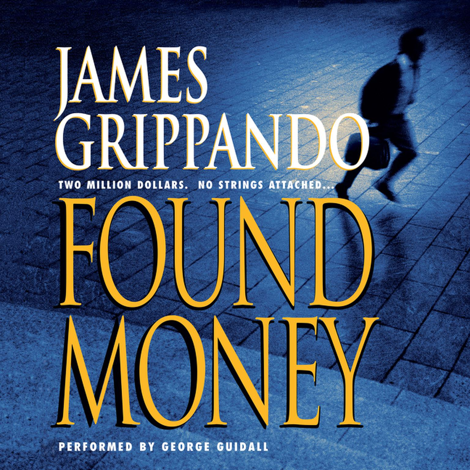 Printable Found Money Audiobook Cover Art