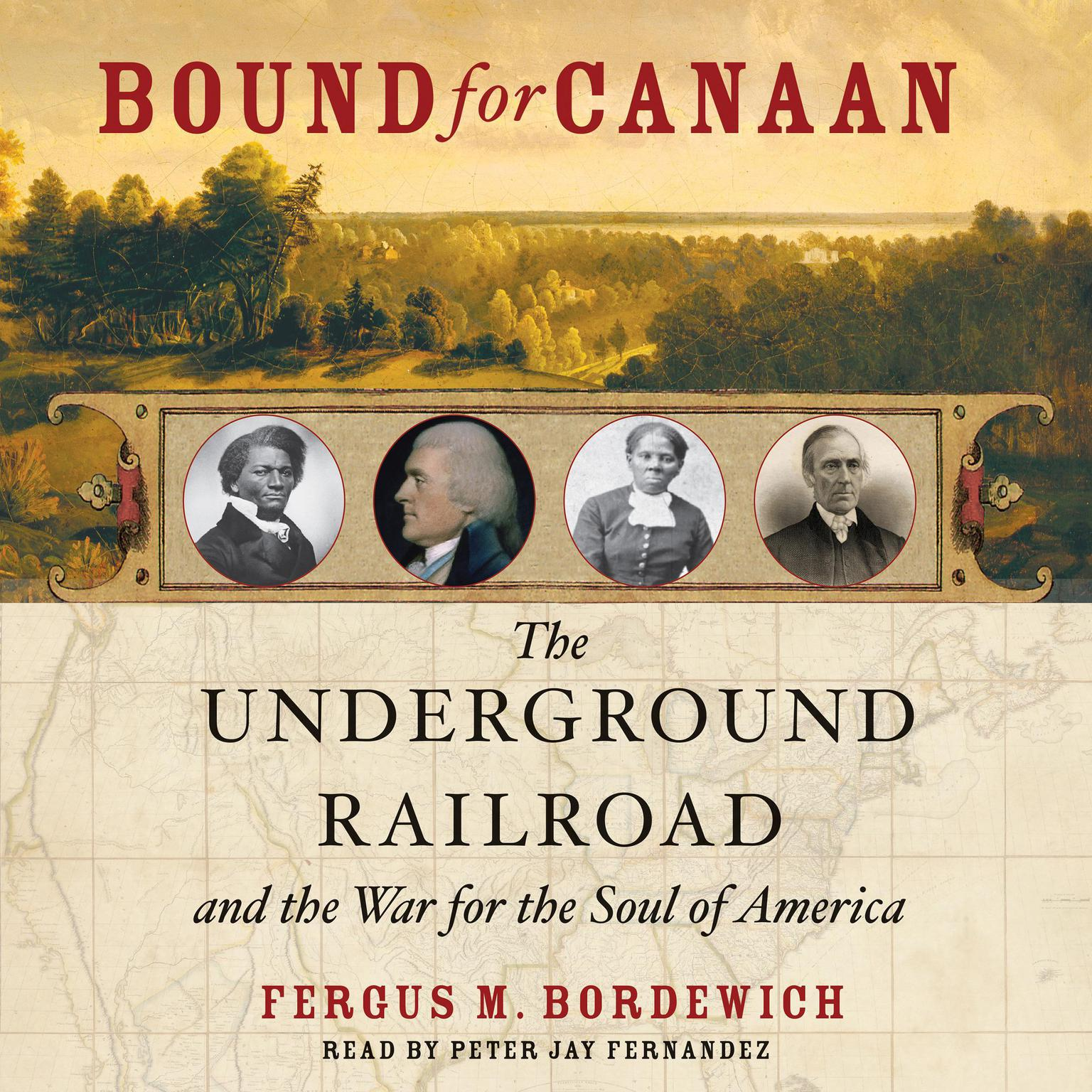 Printable Bound for Canaan: The Epic Story of the Underground Railroad, America's First Civil Rights Movement Audiobook Cover Art