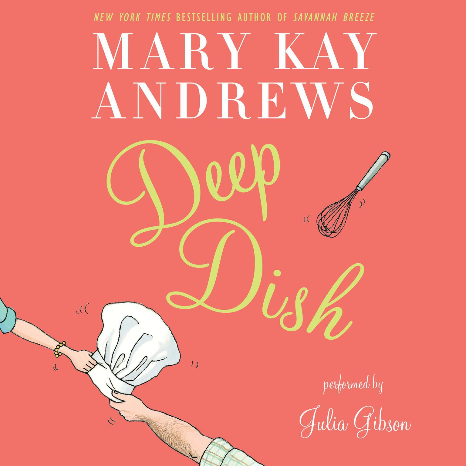 Printable Deep Dish: A Novel Audiobook Cover Art
