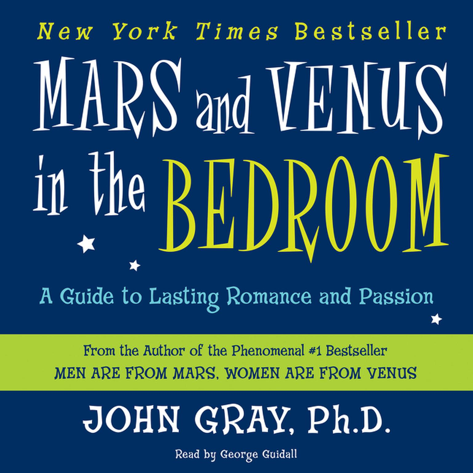 Printable Mars and Venus in the Bedroom: A Guide to Lasting Romance and Passion Audiobook Cover Art
