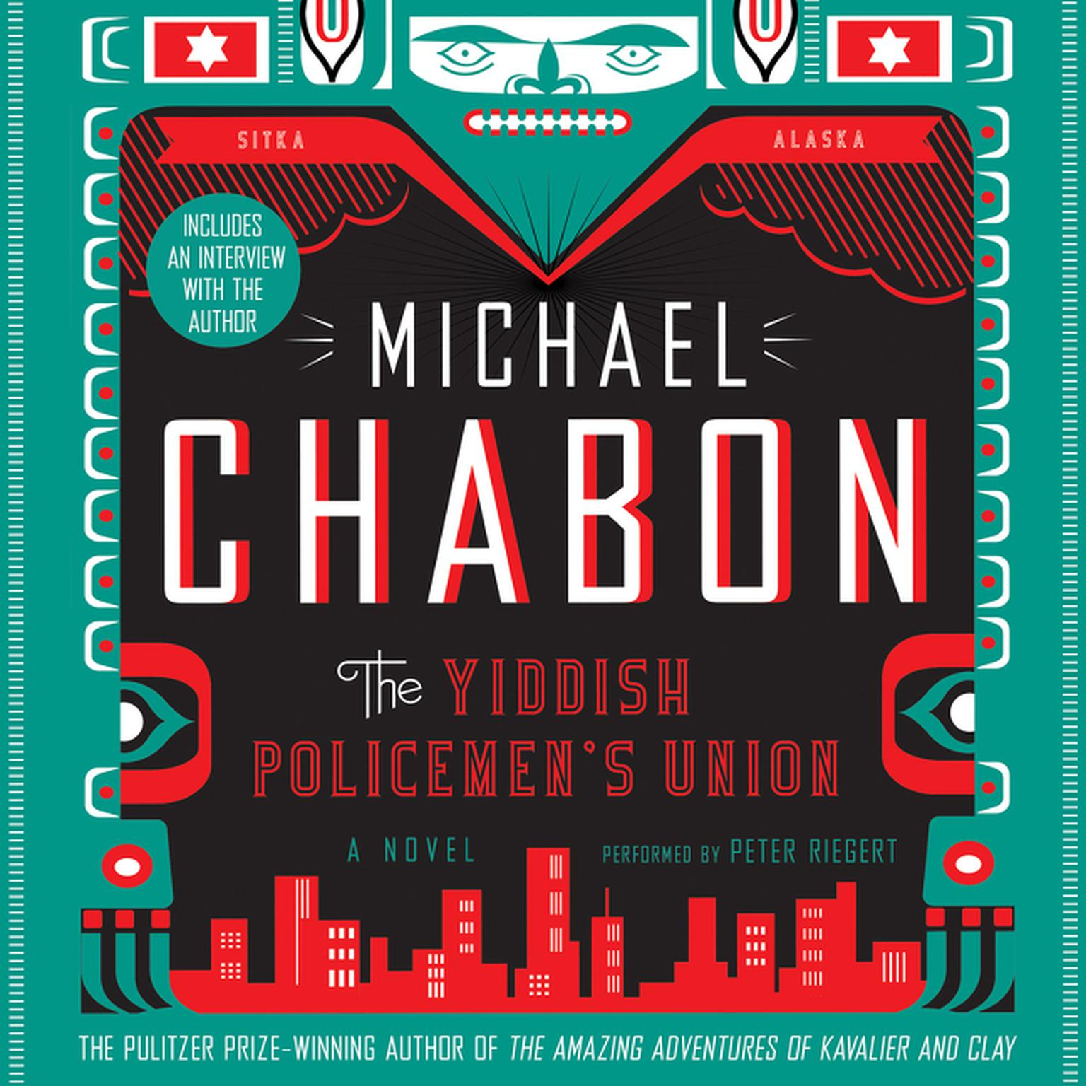 Printable The Yiddish Policemen's Union Audiobook Cover Art