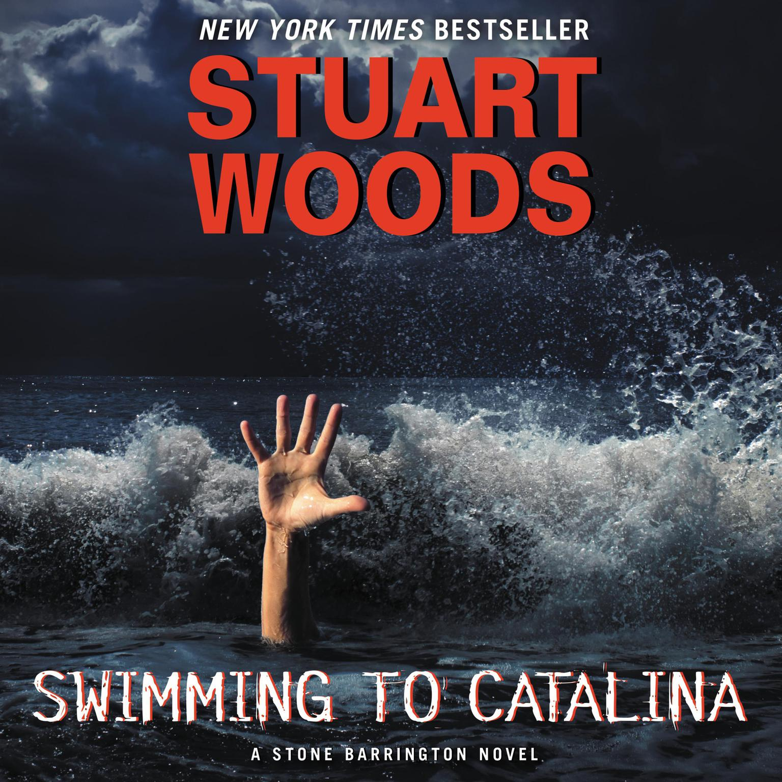 Printable Swimming to Catalina Audiobook Cover Art