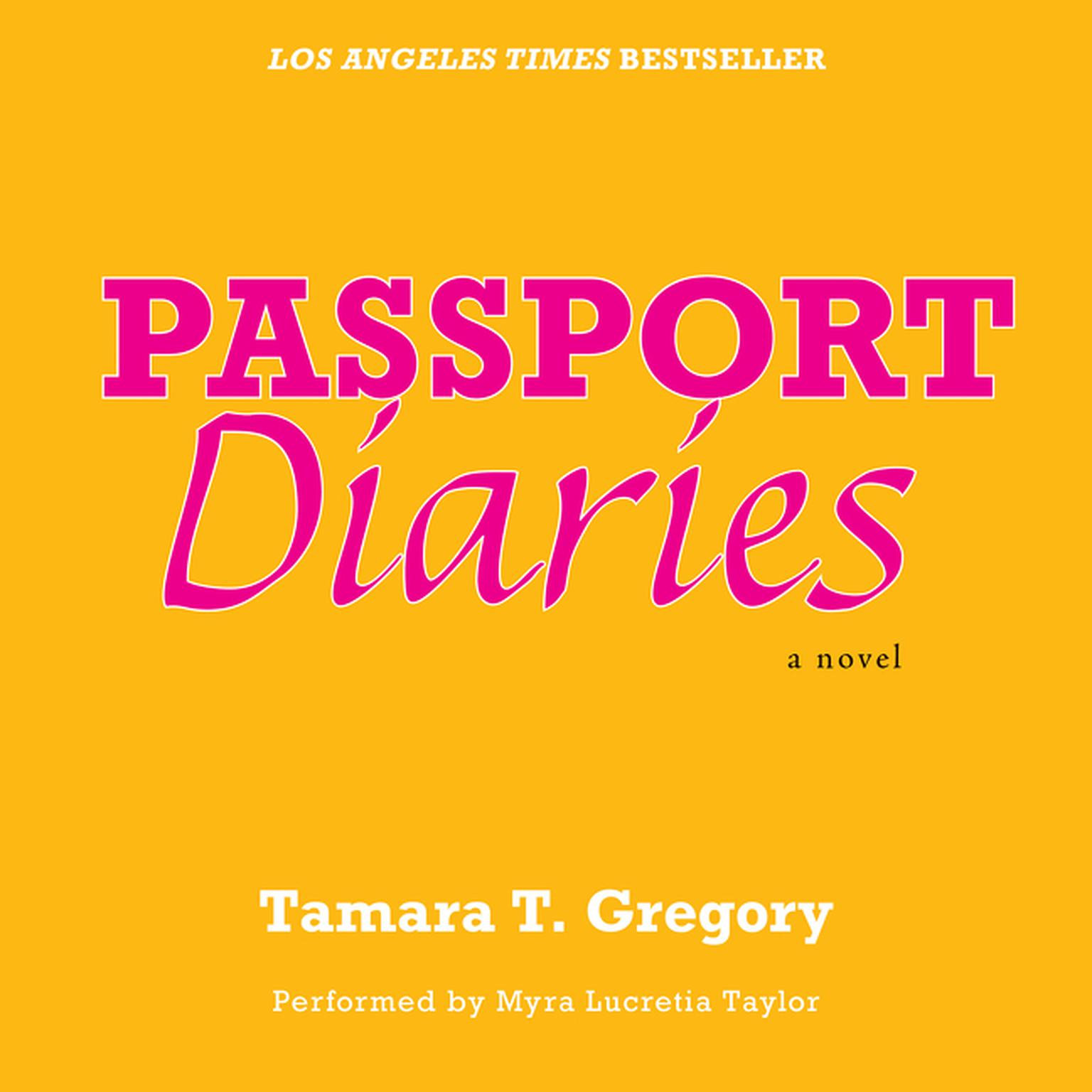 Printable Passport Diaries: A Novel Audiobook Cover Art