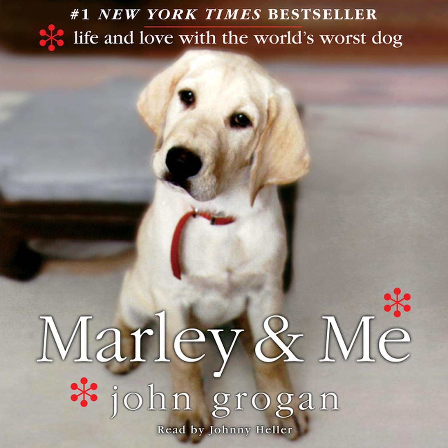 Printable Marley & Me: Life and Love with the World's Worst Dog Audiobook Cover Art