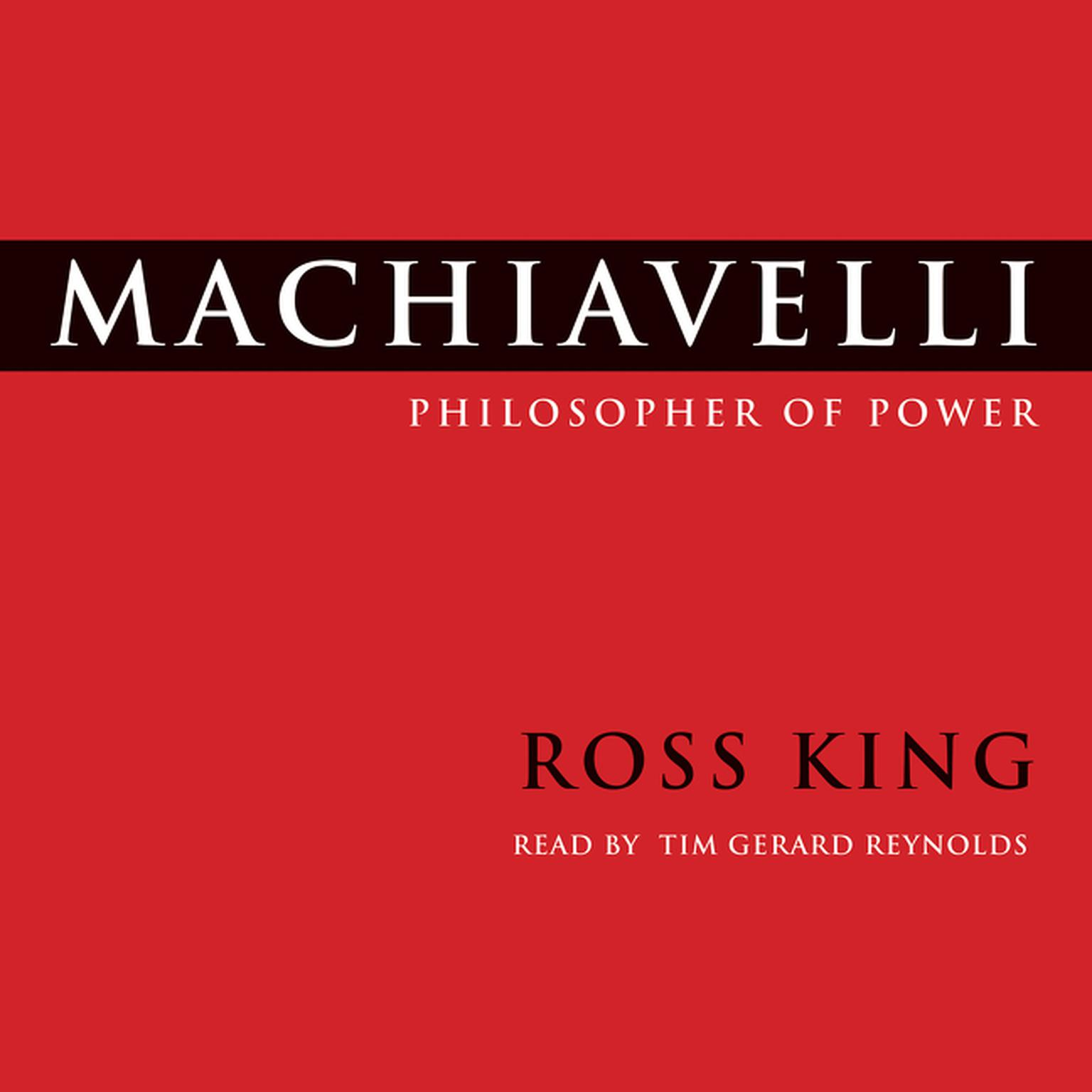 Printable Machiavelli: Philosopher of Power Audiobook Cover Art