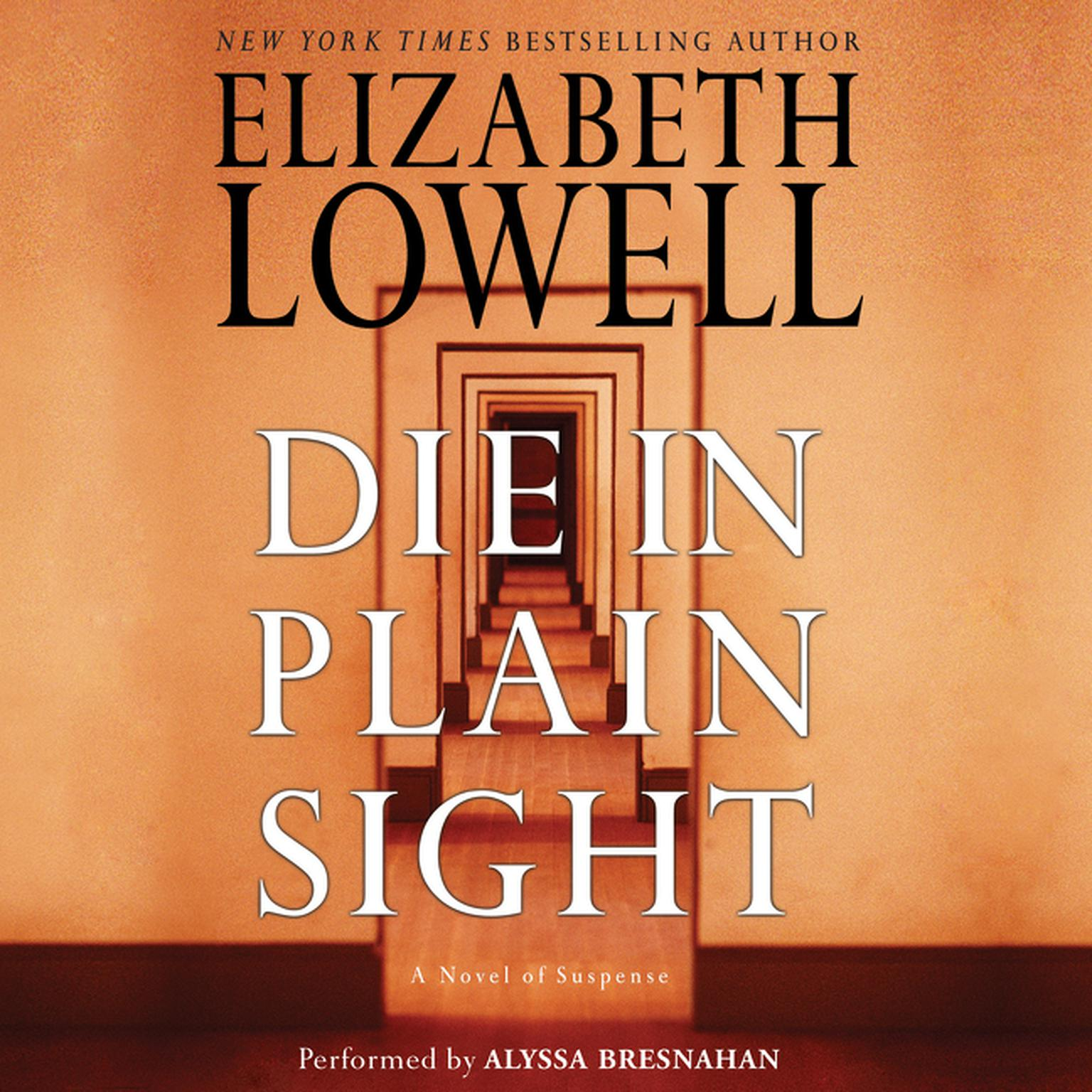 Printable Die in Plain Sight: A Novel of Suspense Audiobook Cover Art