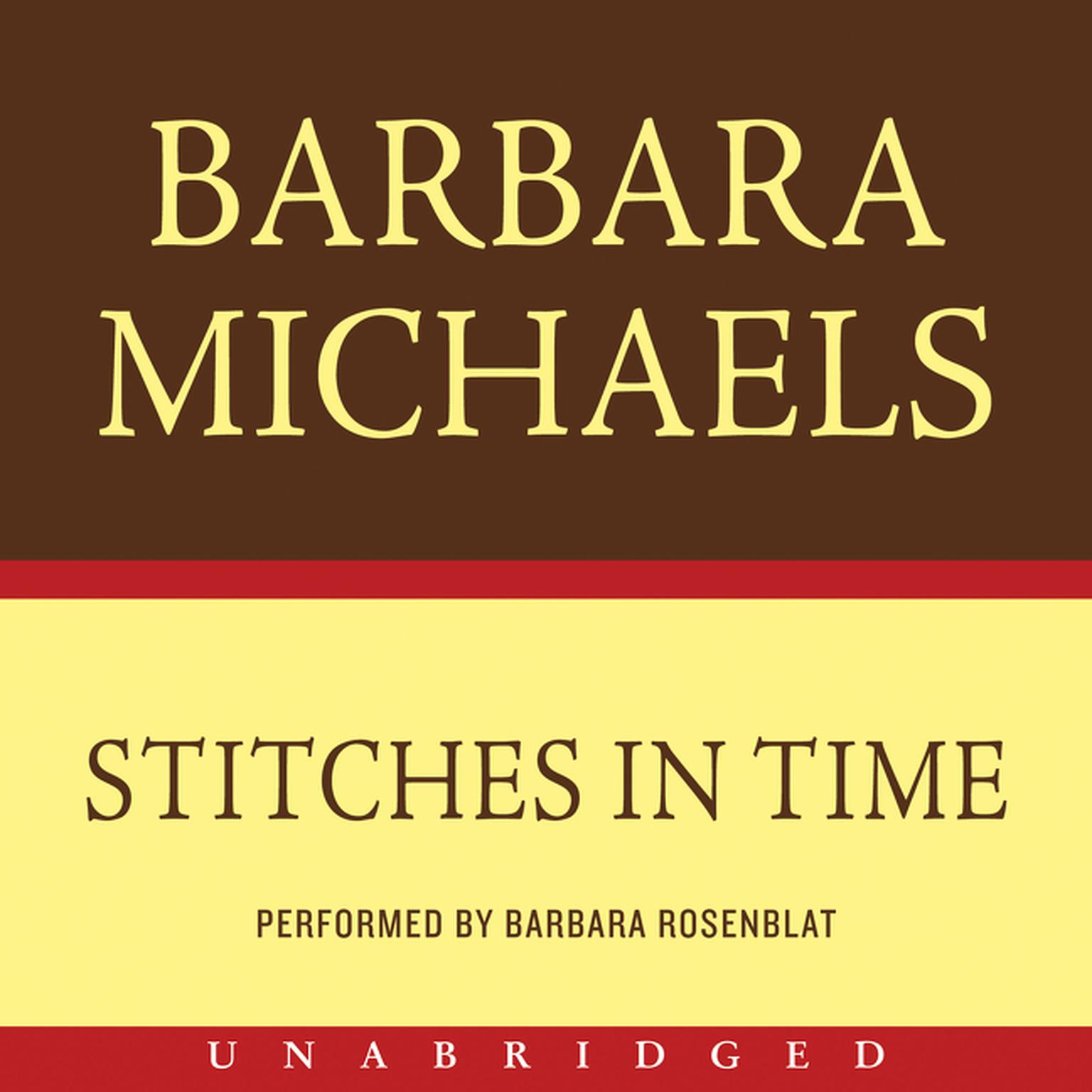 Printable Stitches in Time Audiobook Cover Art