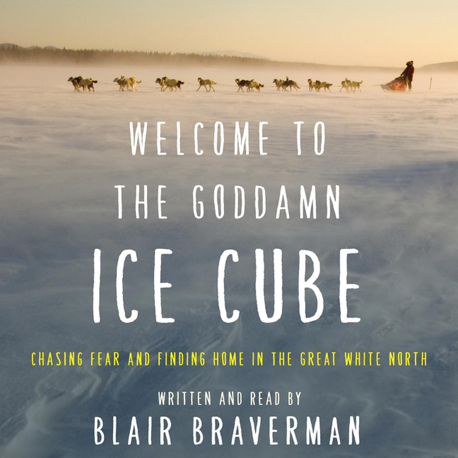 Printable Welcome to the Goddamn Ice Cube: Chasing Fear and Finding Home in the Great White North Audiobook Cover Art