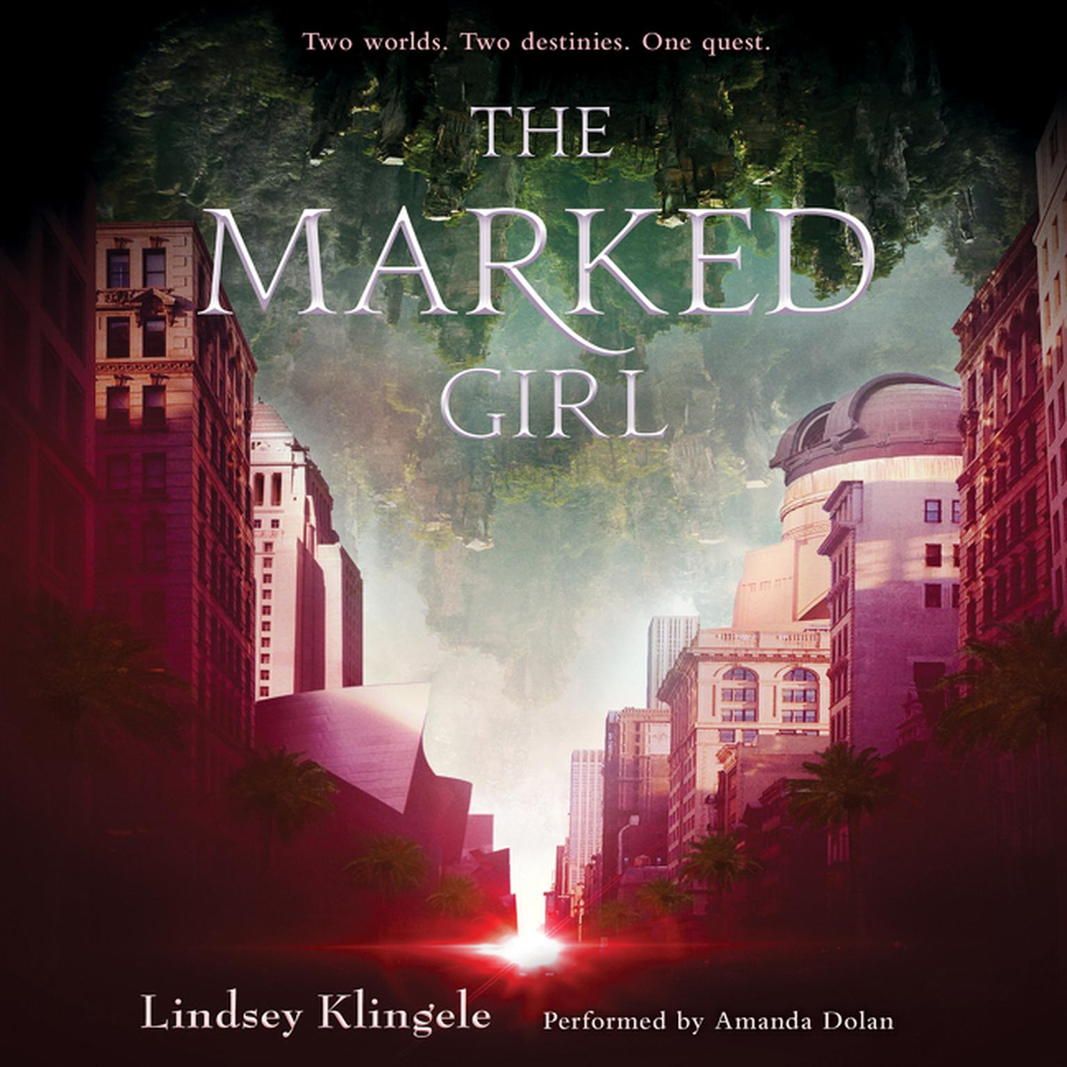 Printable The Marked Girl Audiobook Cover Art