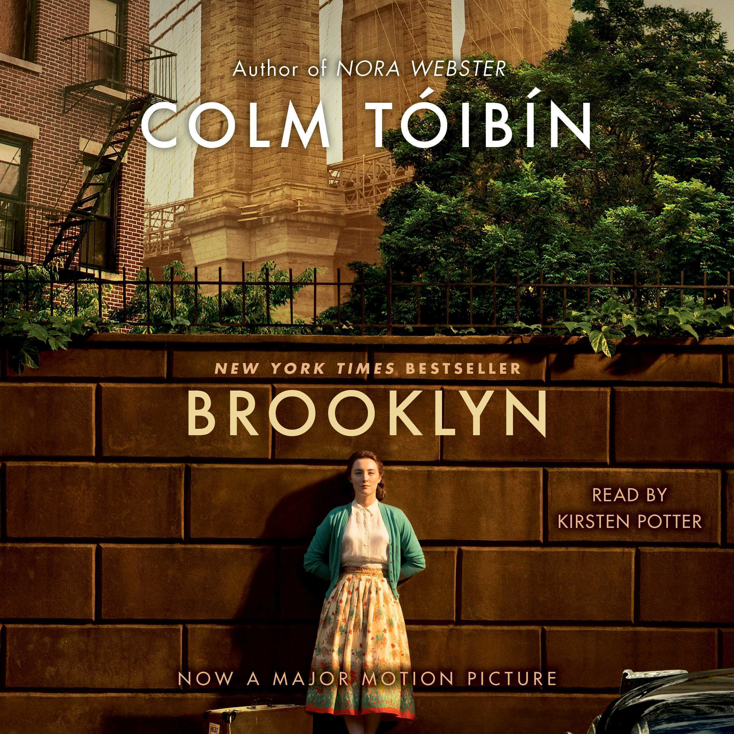 Printable Brooklyn: A Novel Audiobook Cover Art