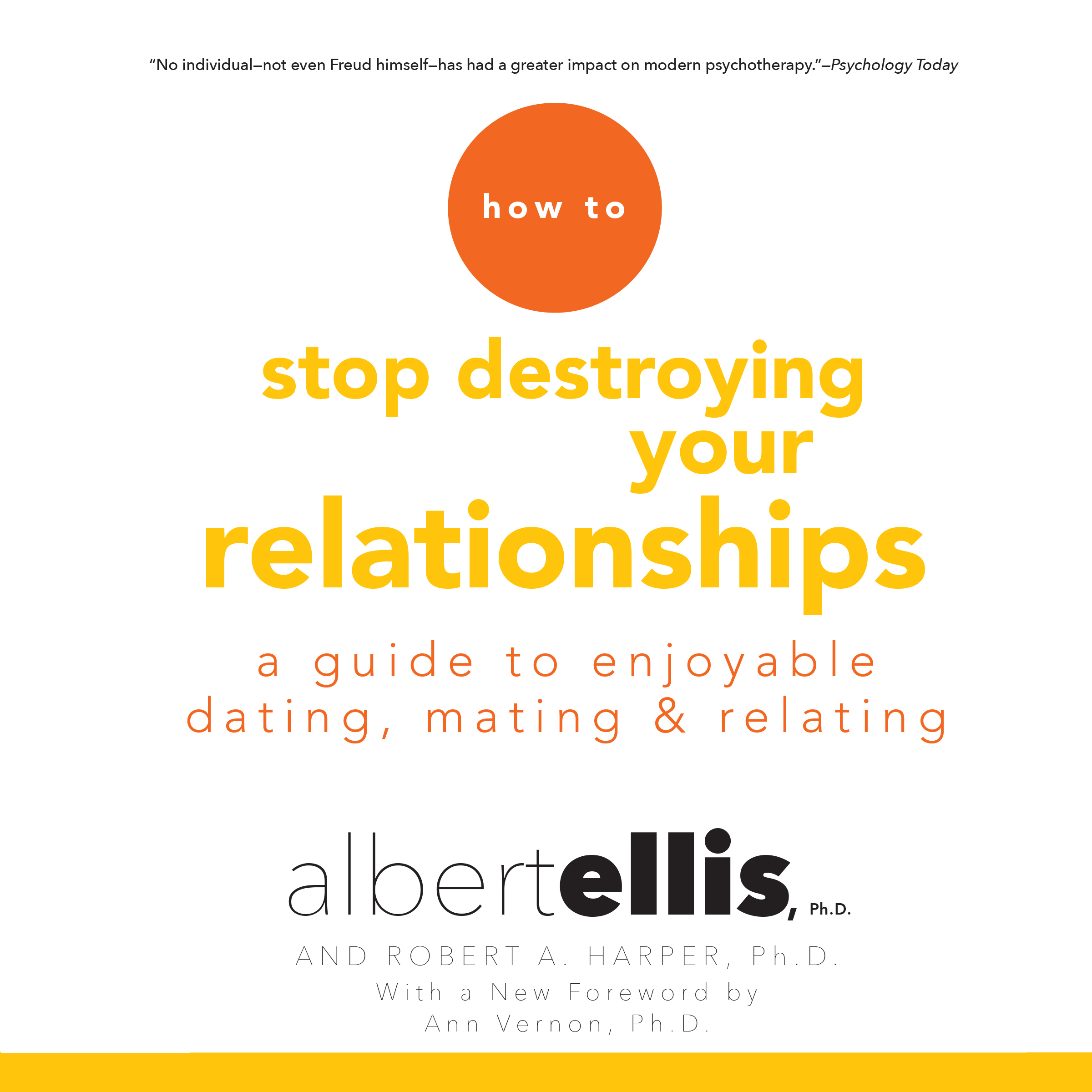 Printable How to Stop Destroying Your Relationships: A Guide to Enjoyable Dating, Mating & Relating Audiobook Cover Art