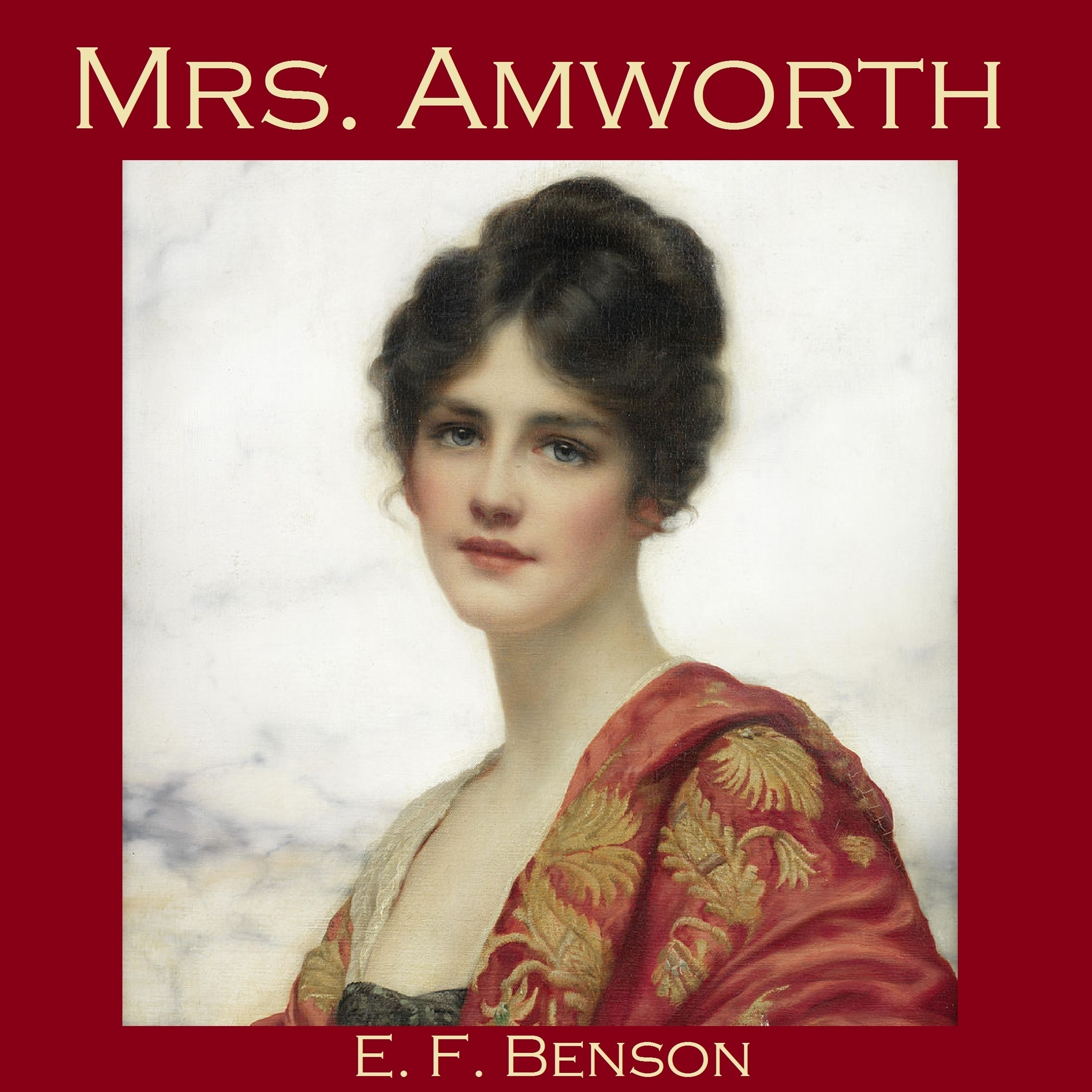 Printable Mrs. Amworth Audiobook Cover Art