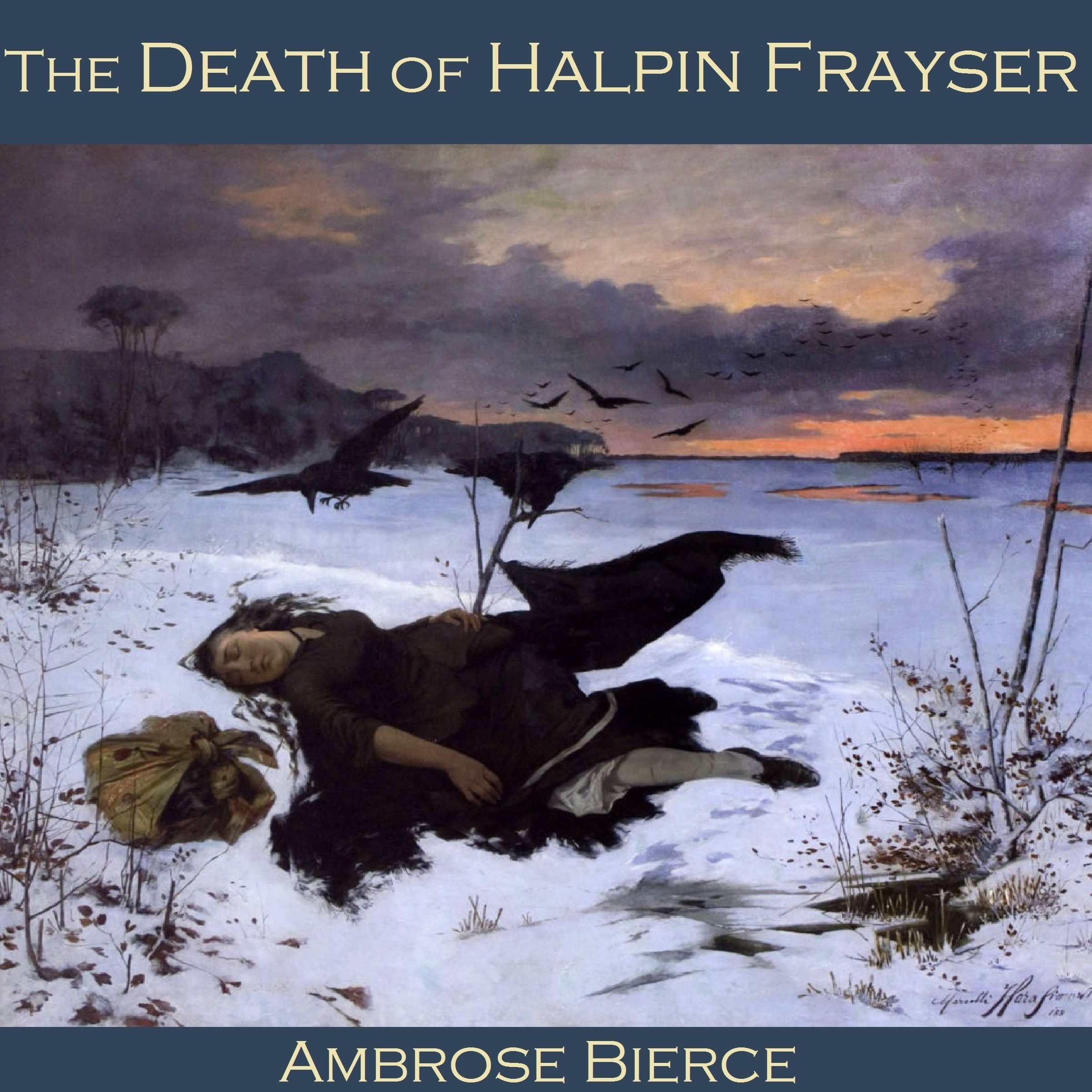 Printable The Death of Halpin Frayser Audiobook Cover Art