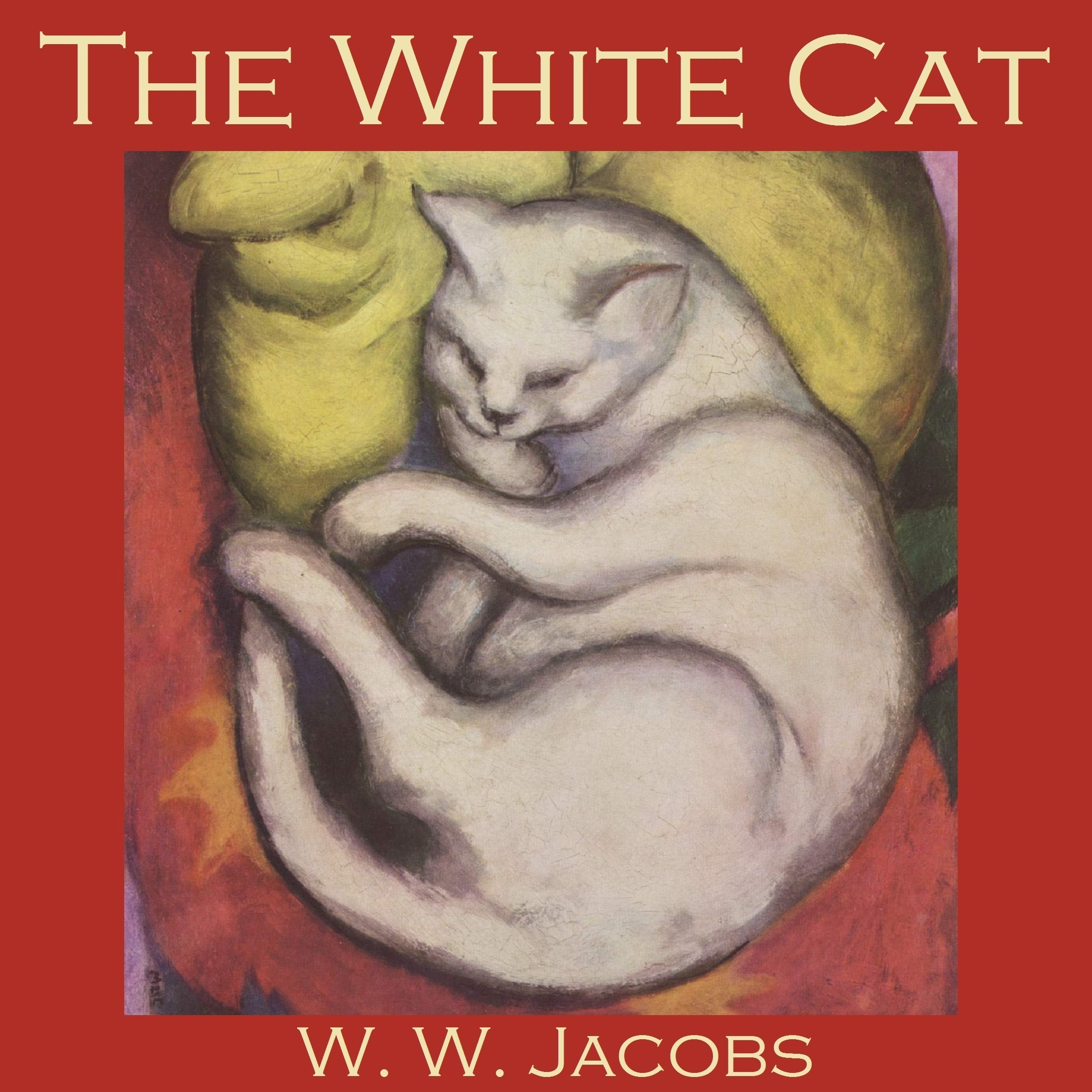 Printable The White Cat Audiobook Cover Art