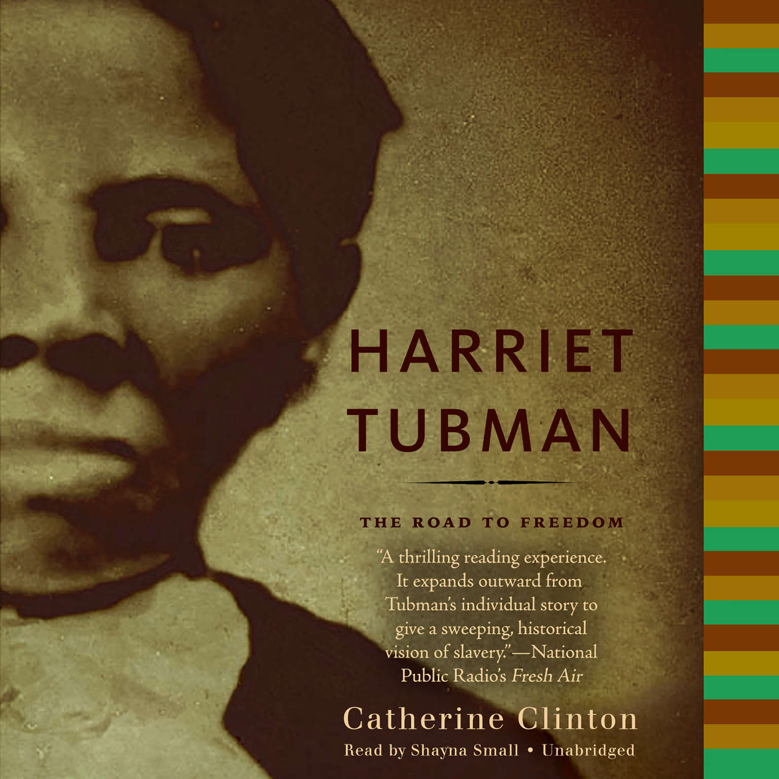 Printable Harriet Tubman: The Road to Freedom Audiobook Cover Art