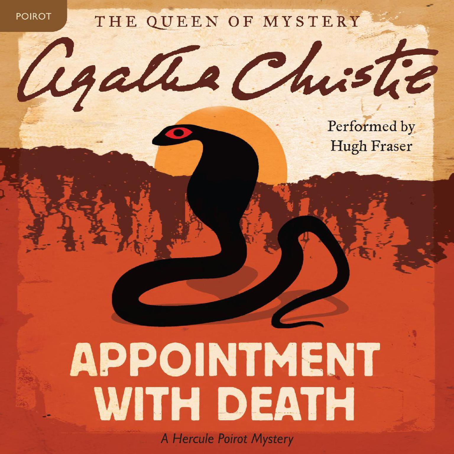 Printable Appointment with Death: A Hercule Poirot Mystery Audiobook Cover Art