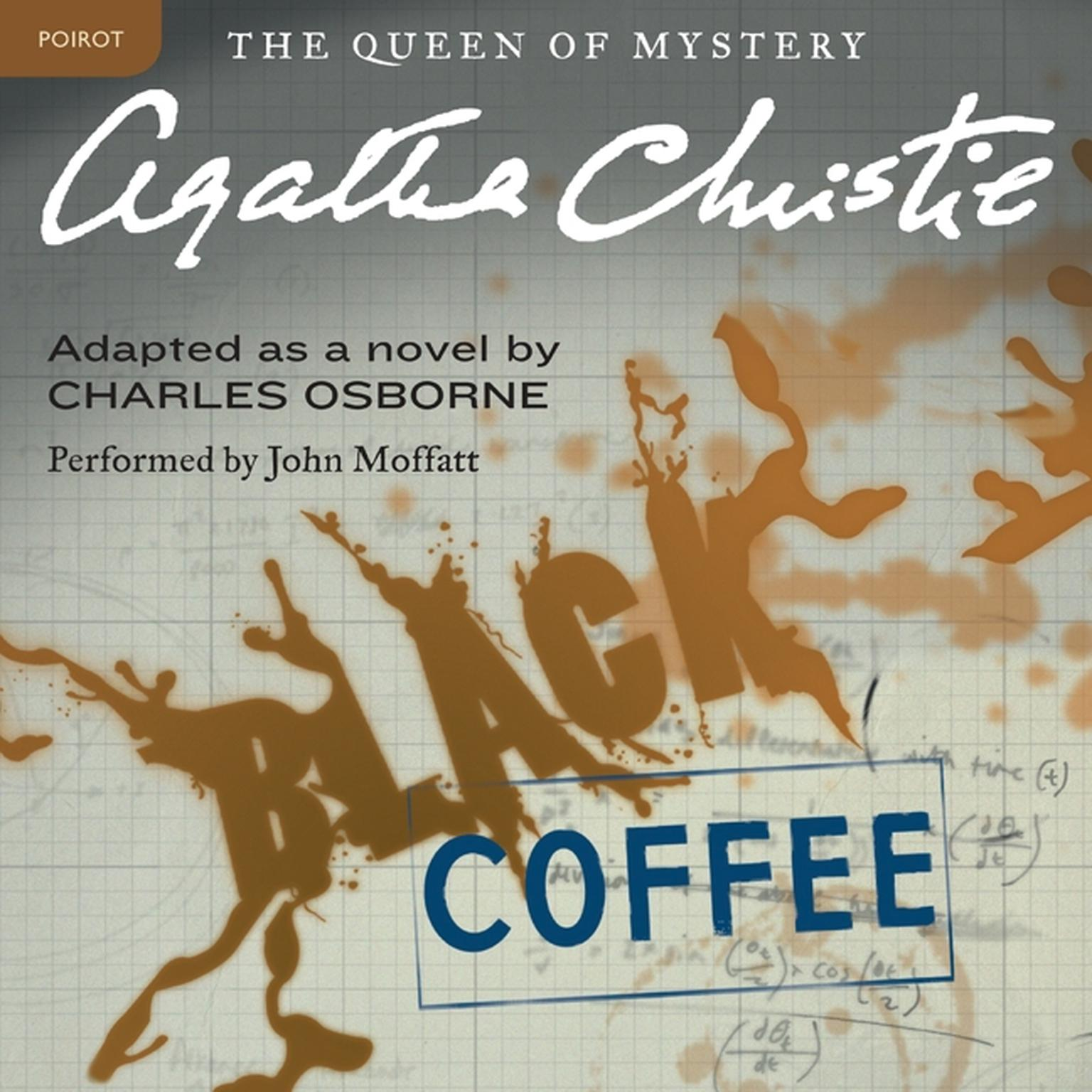 Printable Black Coffee: A Hercule Poirot Mystery Audiobook Cover Art