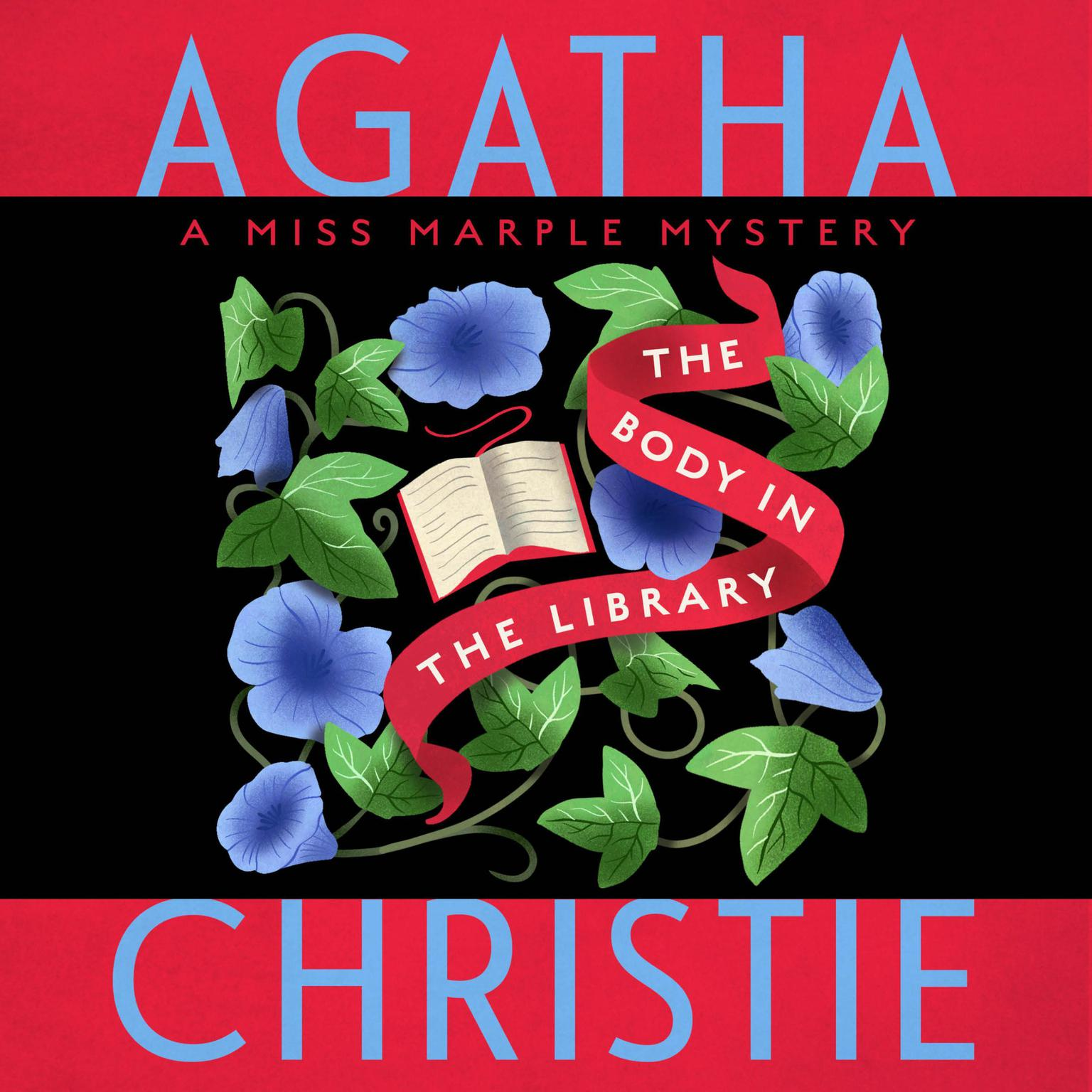 Printable The Body in the Library: A Miss Marple Mystery Audiobook Cover Art