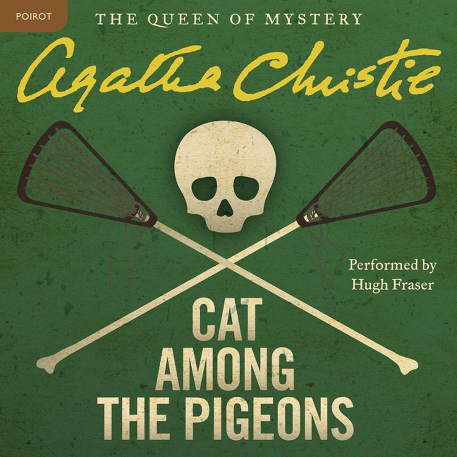 Printable Cat among the Pigeons: A Hercule Poirot Mystery Audiobook Cover Art