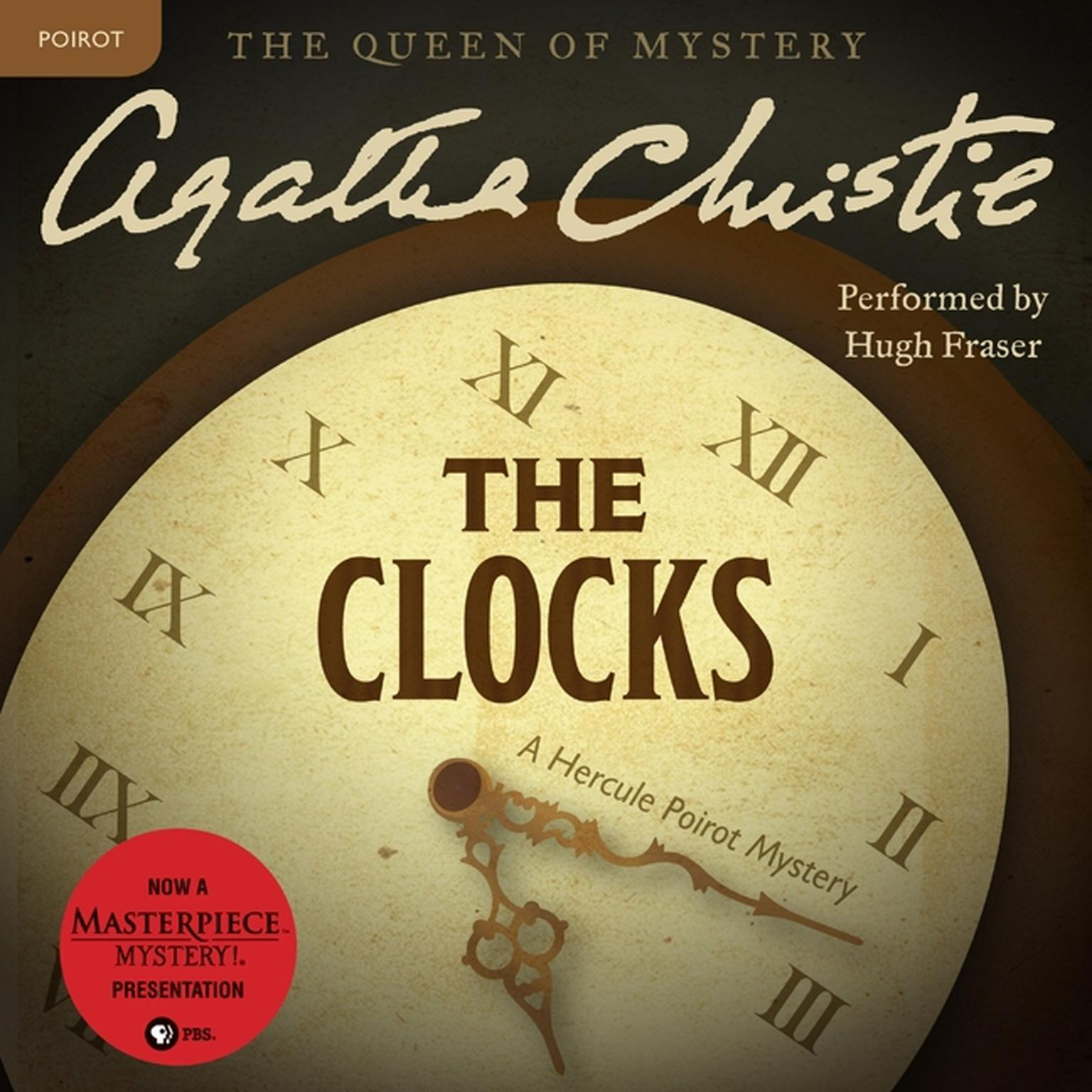 Printable The Clocks: A Hercule Poirot Mystery Audiobook Cover Art