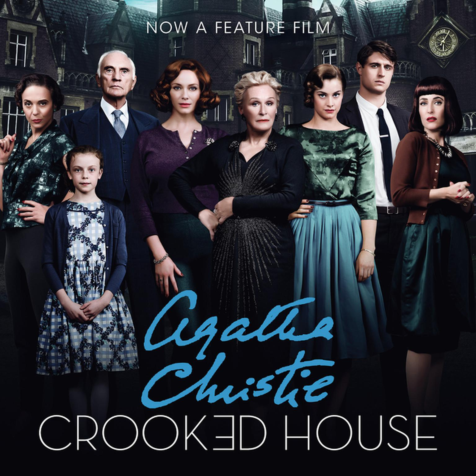 Printable Crooked House Audiobook Cover Art