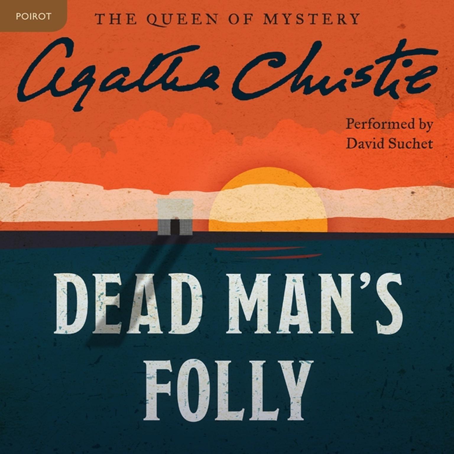 Printable Dead Man's Folly: A Hercule Poirot Mystery Audiobook Cover Art