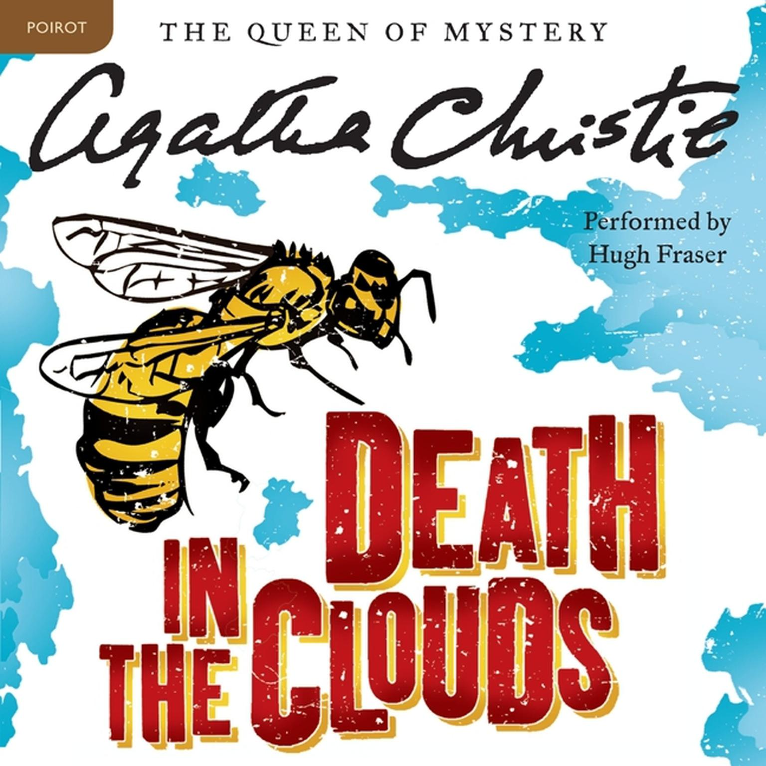 Printable Death in the Clouds: A Hercule Poirot Mystery Audiobook Cover Art