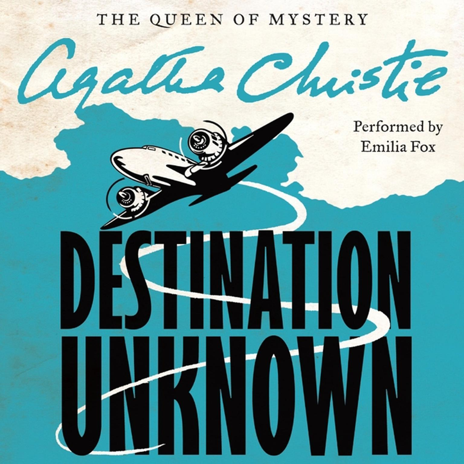 Printable Destination Unknown Audiobook Cover Art