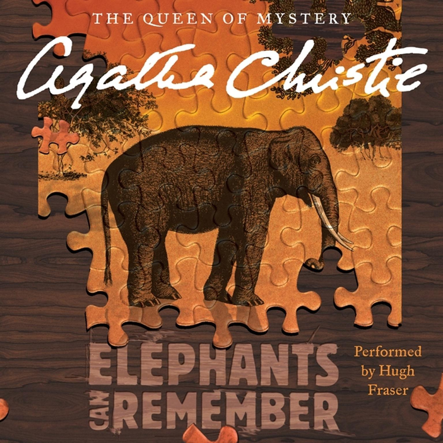 Printable Elephants Can Remember: A Hercule Poirot Mystery Audiobook Cover Art