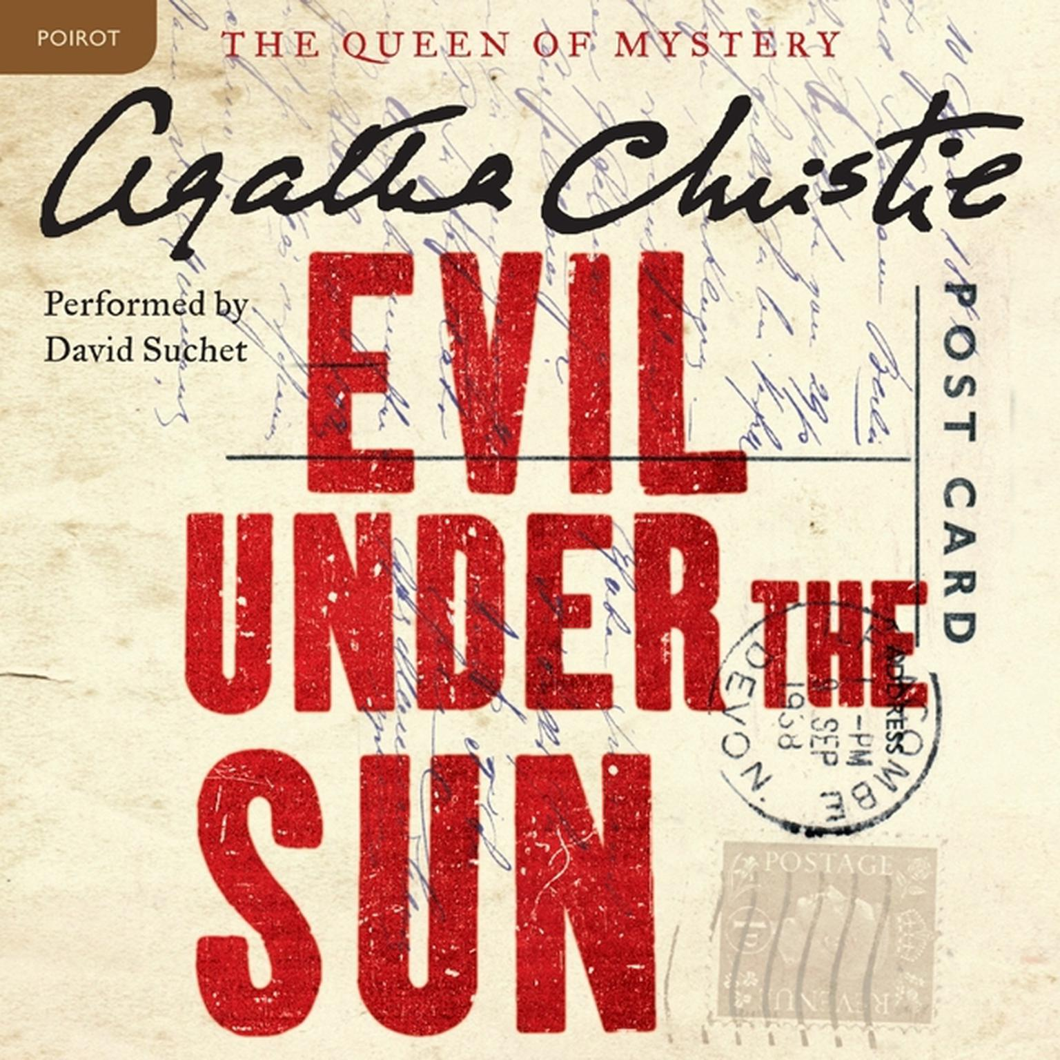 Printable Evil under the Sun: A Hercule Poirot Mystery Audiobook Cover Art