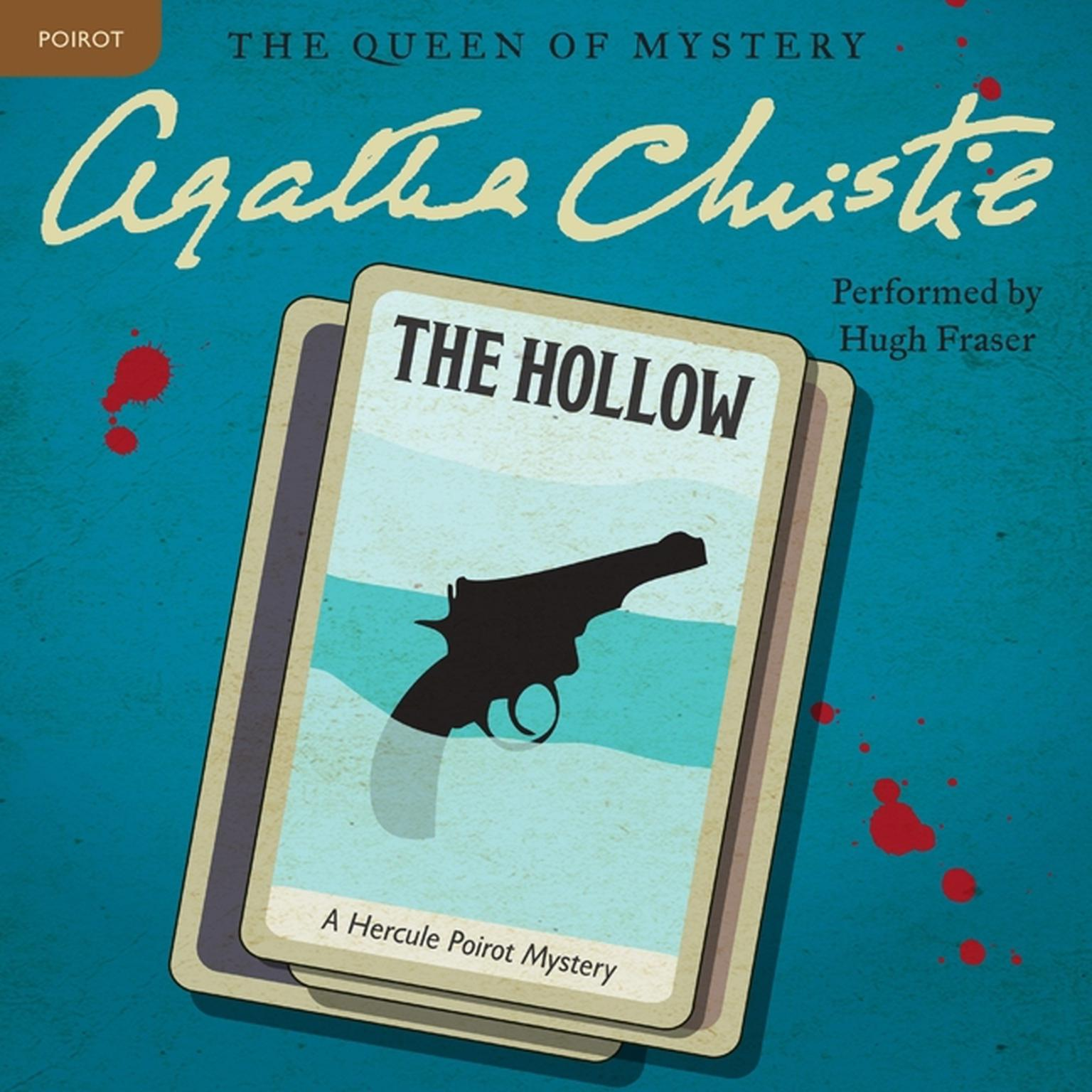 Printable The Hollow: A Hercule Poirot Mystery Audiobook Cover Art