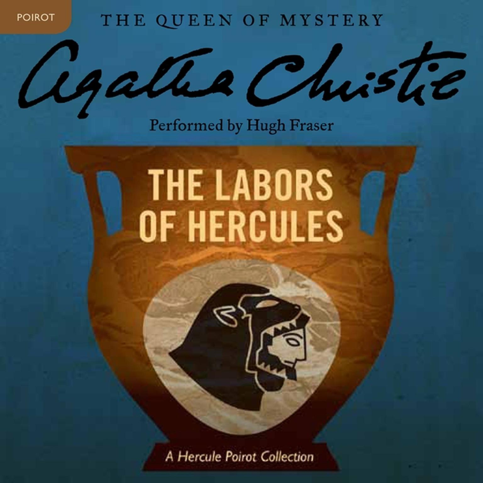 Printable The Labors of Hercules: A Hercule Poirot Collection Audiobook Cover Art