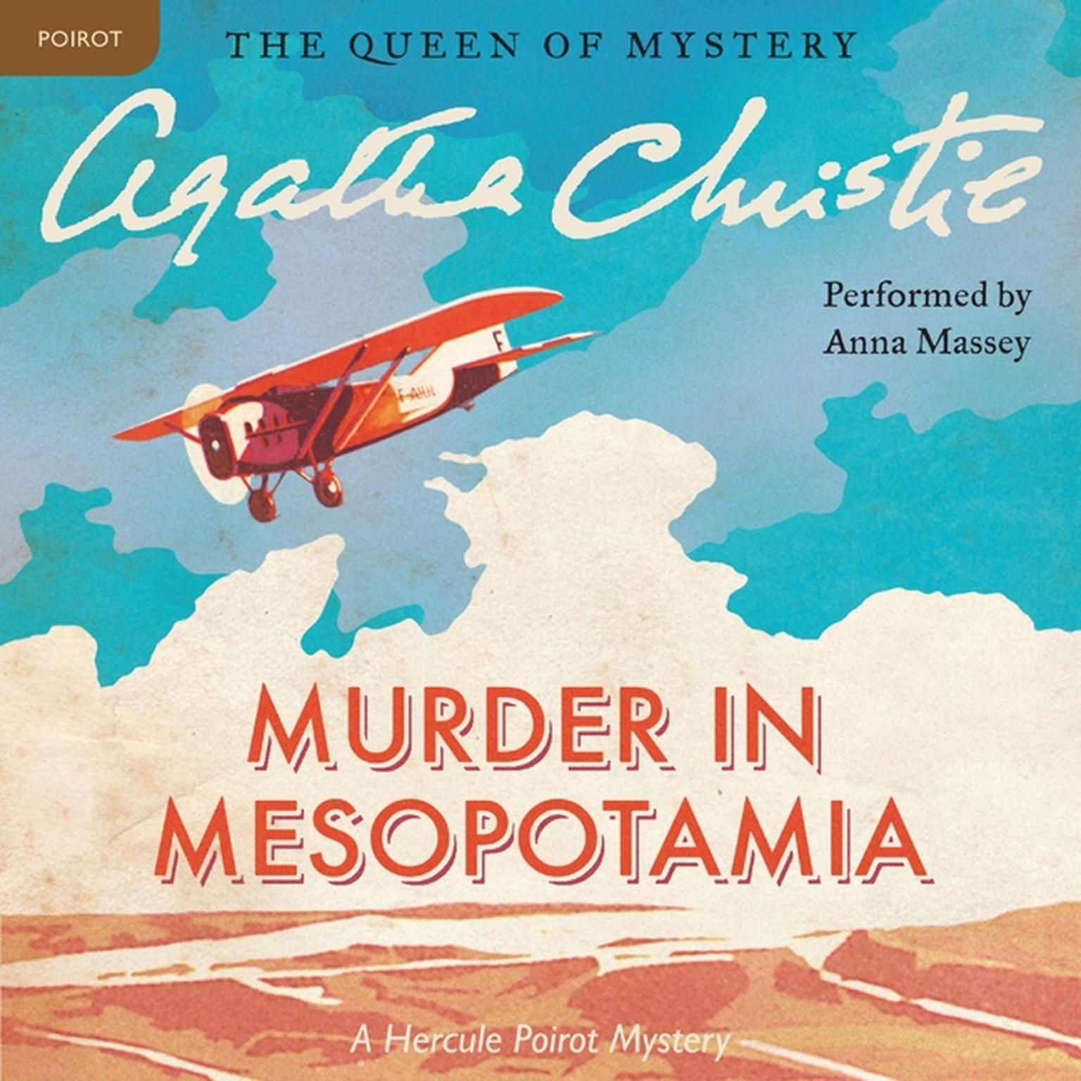 Printable Murder in Mesopotamia: A Hercule Poirot Mystery Audiobook Cover Art