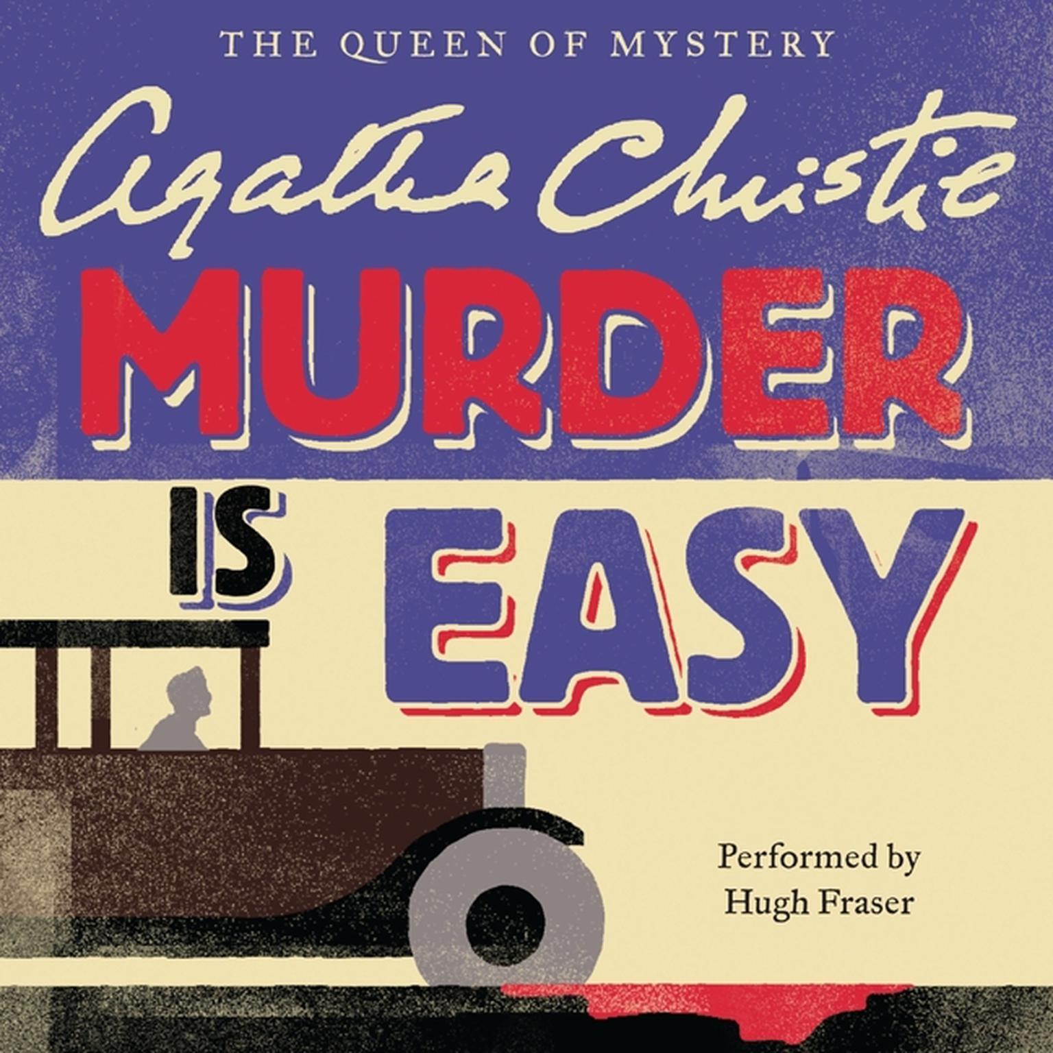 Printable Murder Is Easy Audiobook Cover Art
