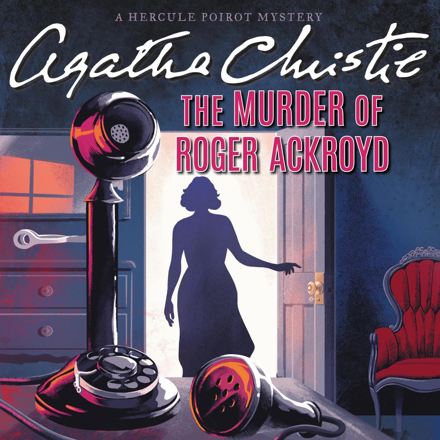 Printable The Murder of Roger Ackroyd: A Hercule Poirot Mystery Audiobook Cover Art