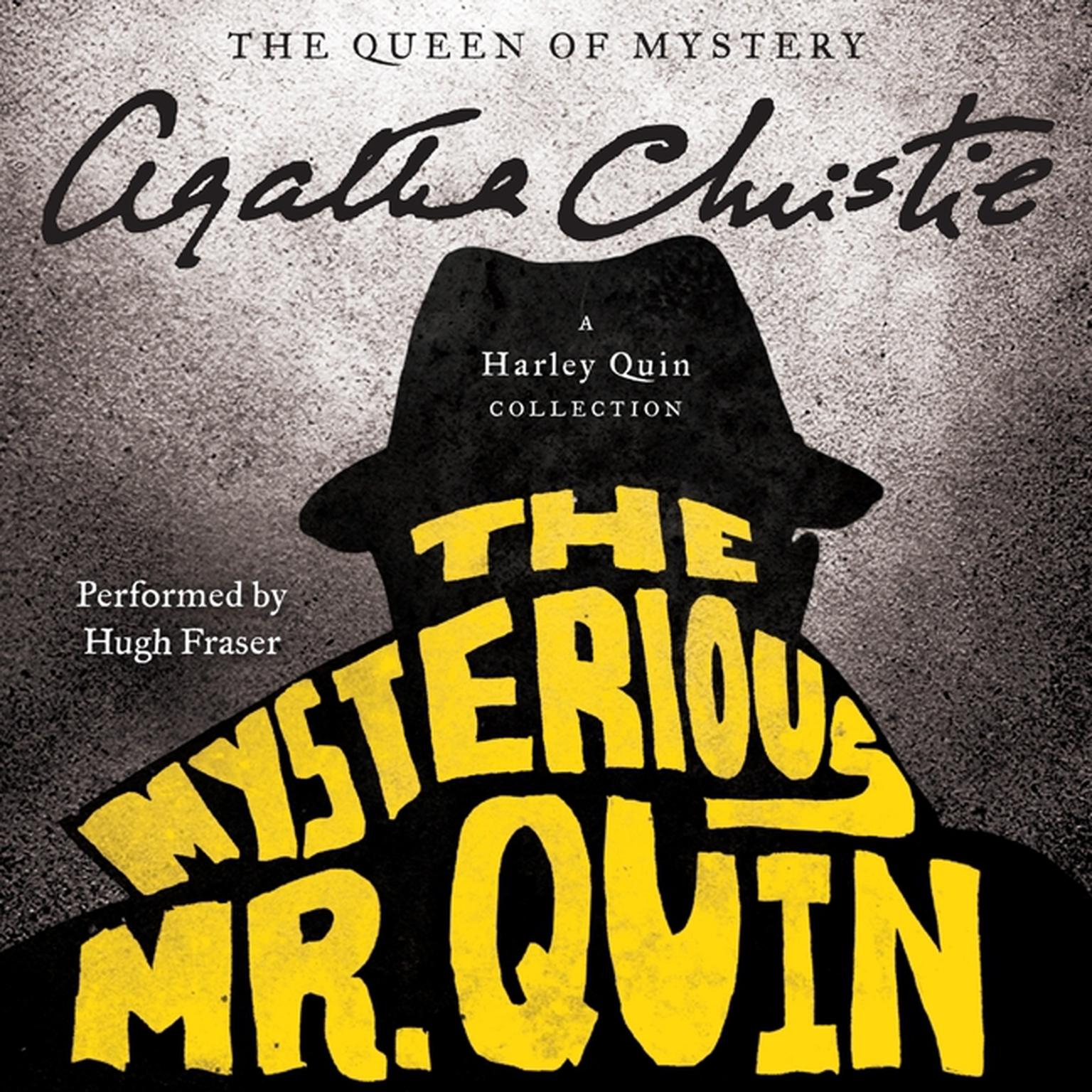 Printable The Mysterious Mr. Quin: A Harley Quin Collection Audiobook Cover Art