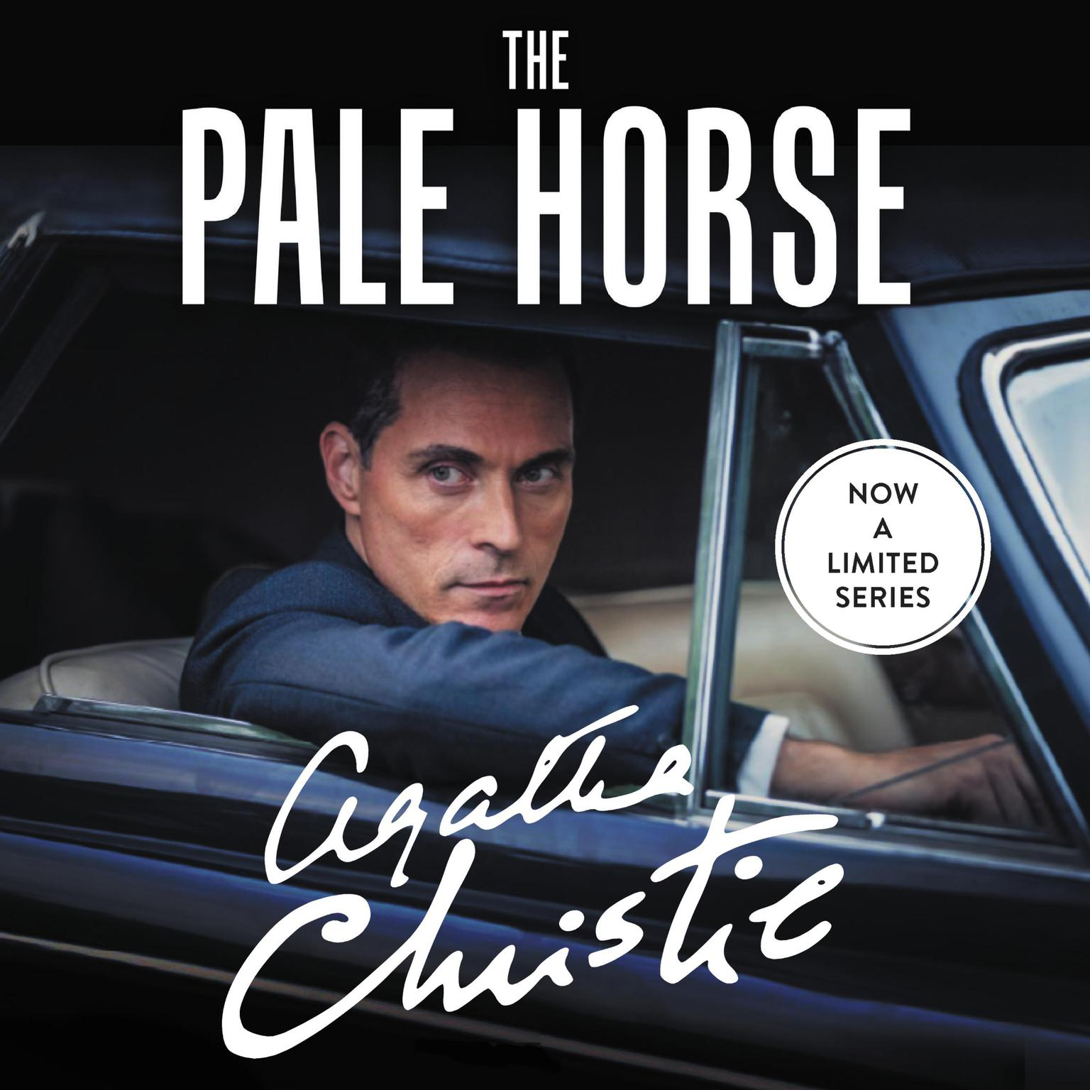 Printable The Pale Horse Audiobook Cover Art