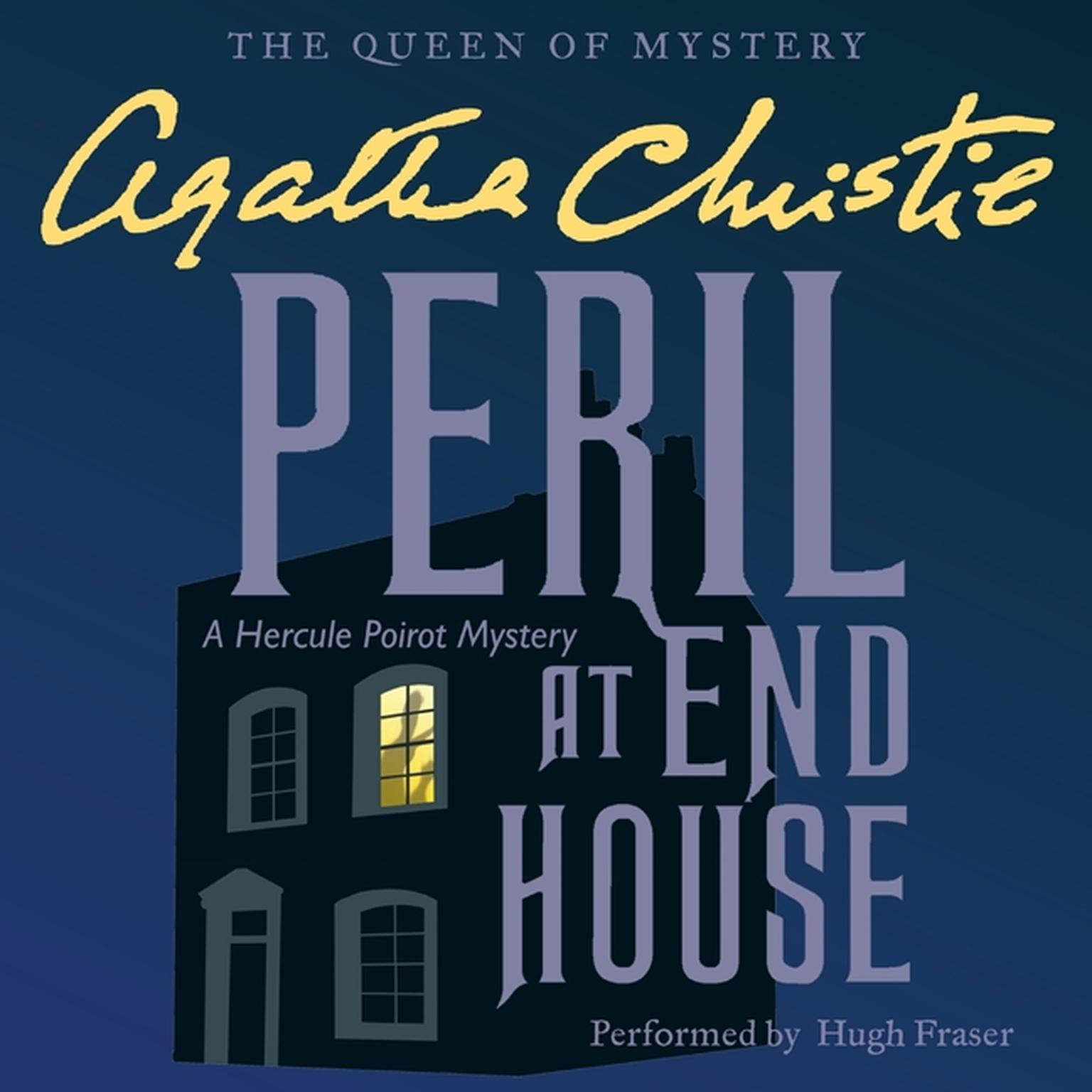 Printable Peril at End House: A Hercule Poirot Mystery Audiobook Cover Art