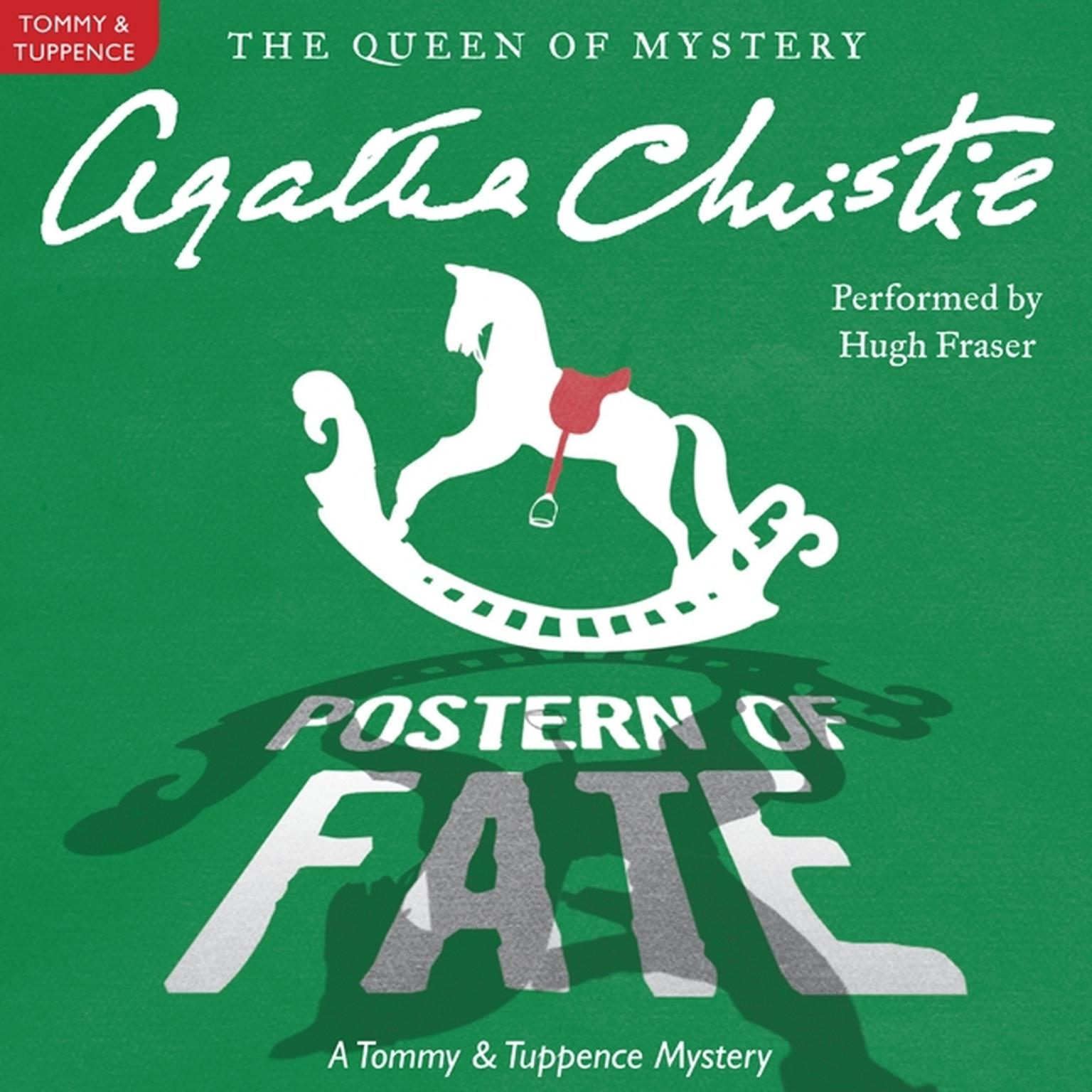 Printable Postern of Fate: A Tommy and Tuppence Mystery Audiobook Cover Art