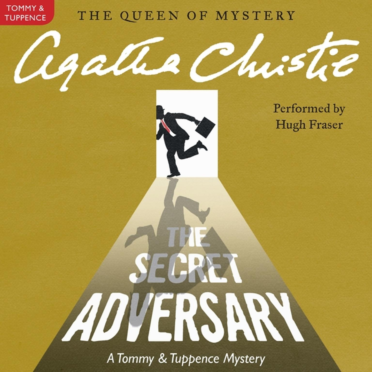 Printable The Secret Adversary: A Tommy and Tuppence Mystery Audiobook Cover Art