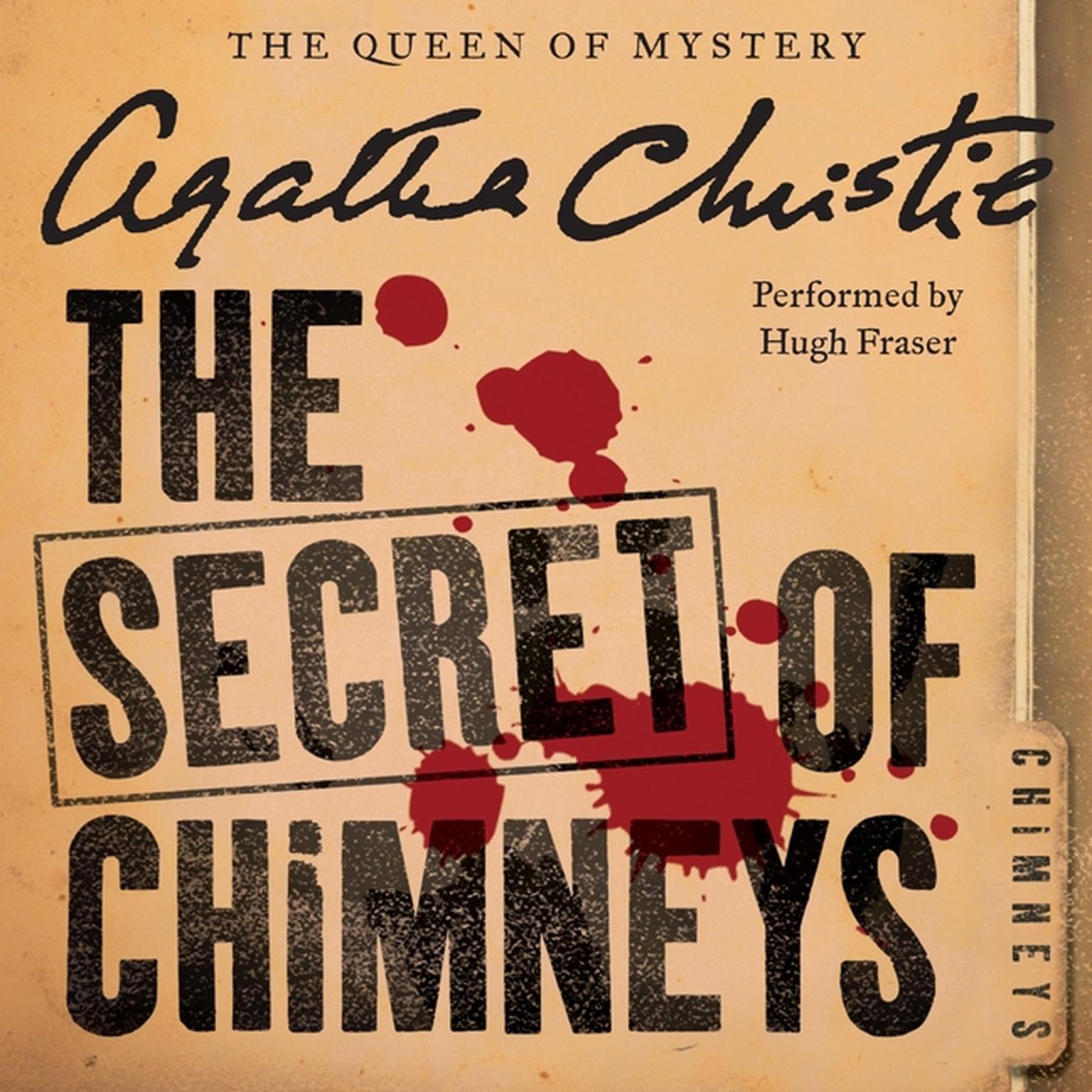 Printable The Secret of Chimneys Audiobook Cover Art