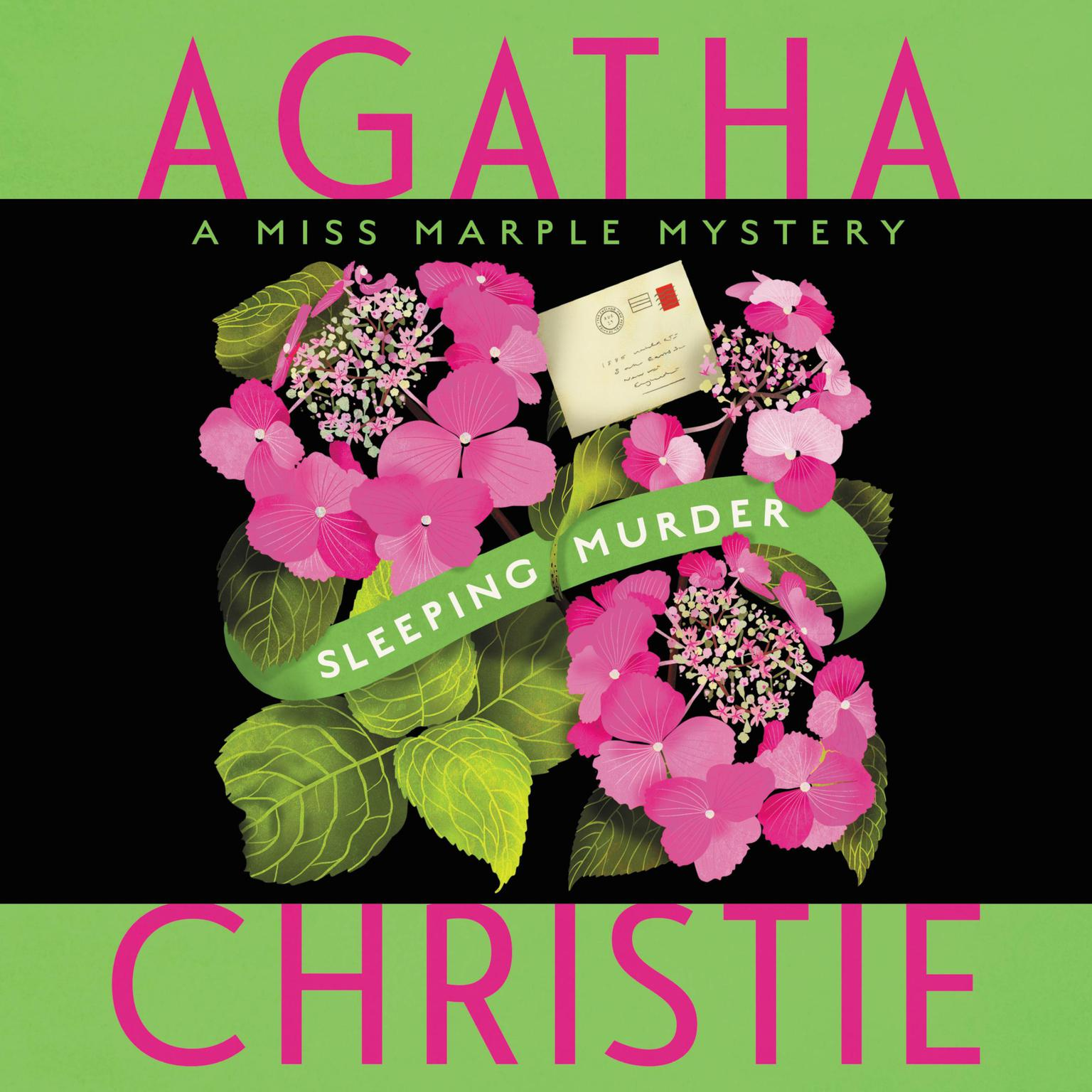 Printable Sleeping Murder: Miss Marple's Last Case Audiobook Cover Art