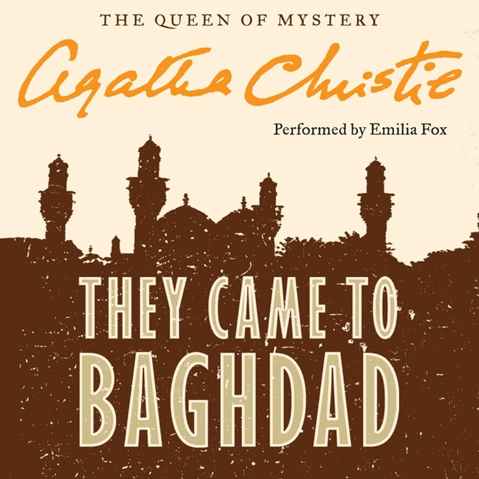 Printable They Came to Baghdad Audiobook Cover Art
